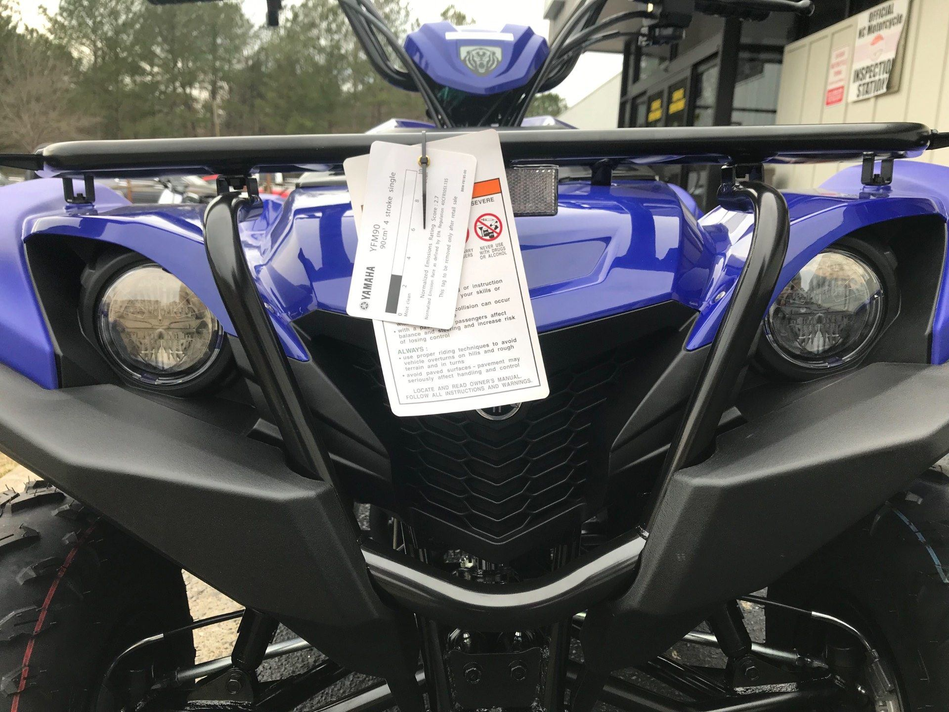 2019 Yamaha Grizzly 90 in Greenville, North Carolina - Photo 12