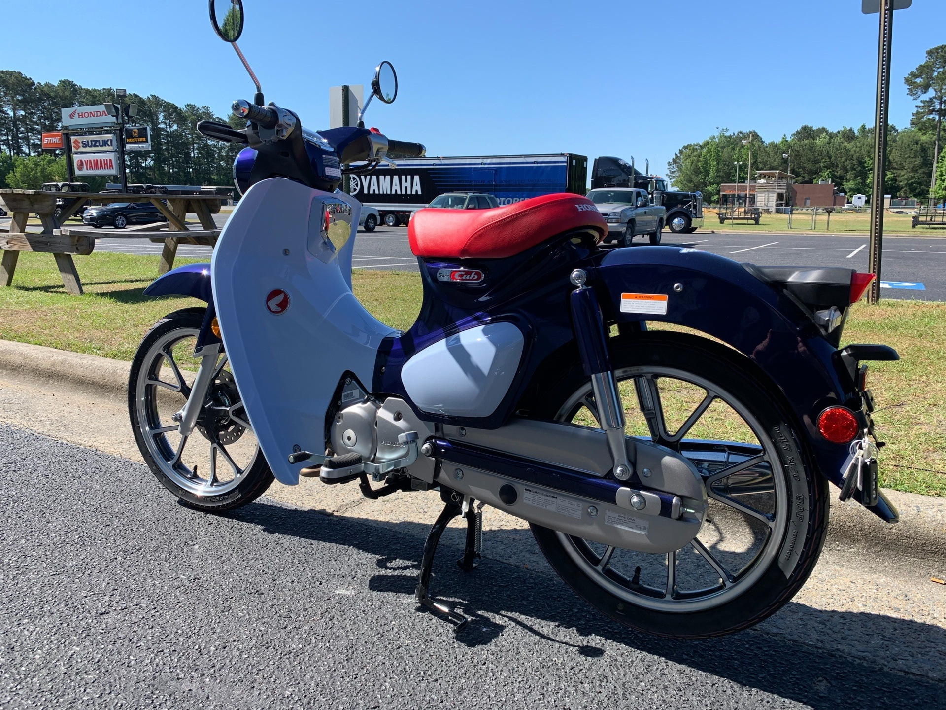 2019 Honda Super Cub C125 ABS in Greenville, North Carolina - Photo 8
