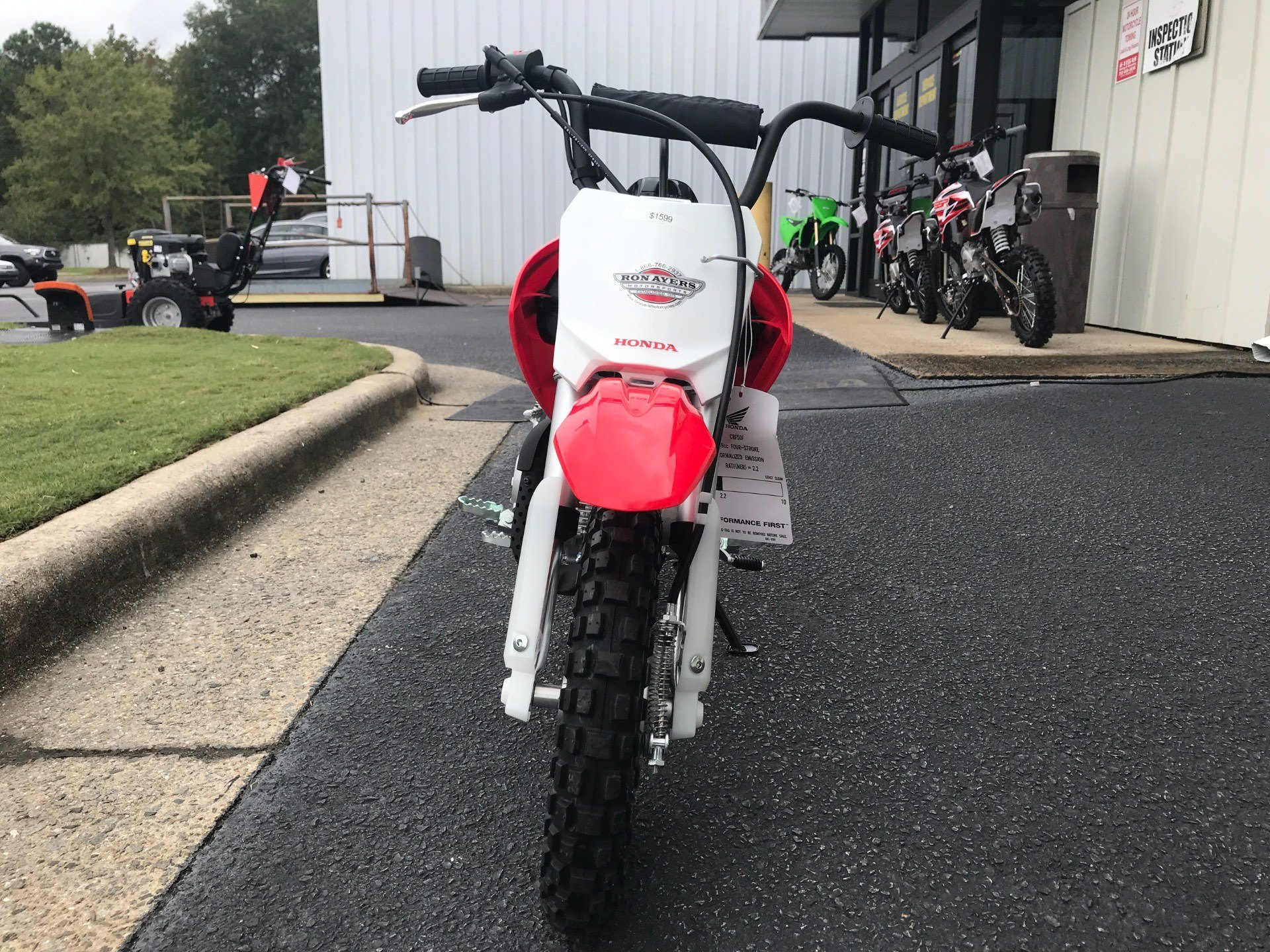 2021 Honda CRF50F in Greenville, North Carolina - Photo 3