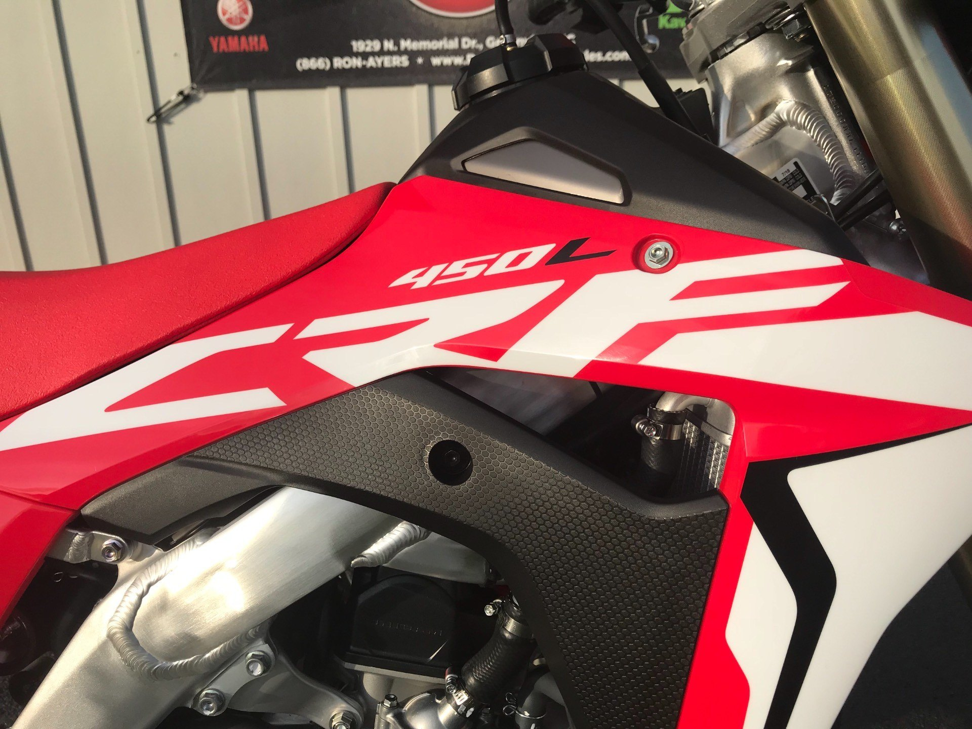 2019 Honda CRF450L in Greenville, North Carolina - Photo 17