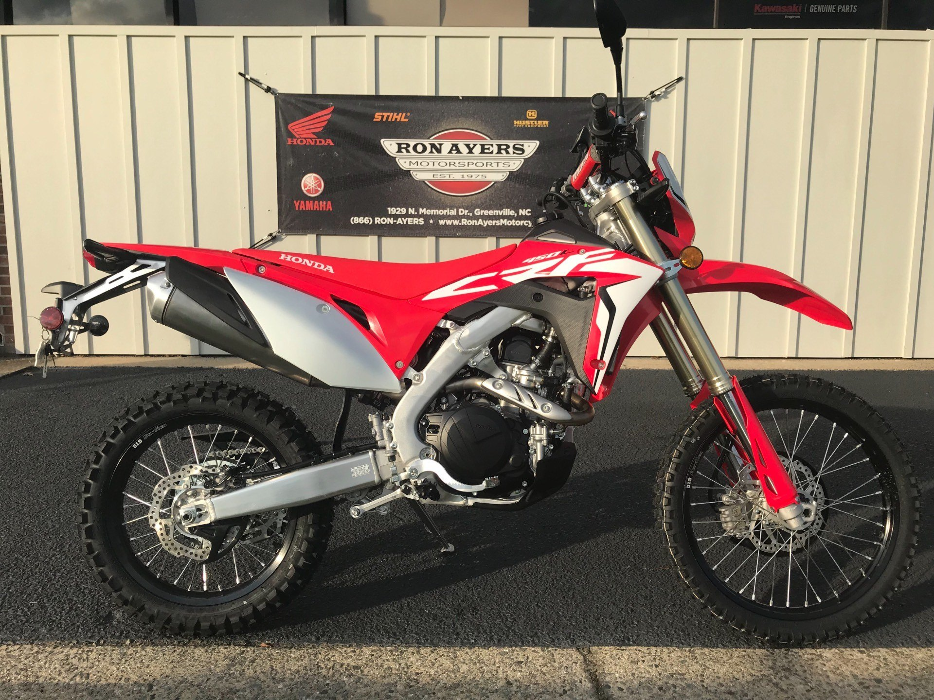 2019 Honda CRF450L in Greenville, North Carolina - Photo 23