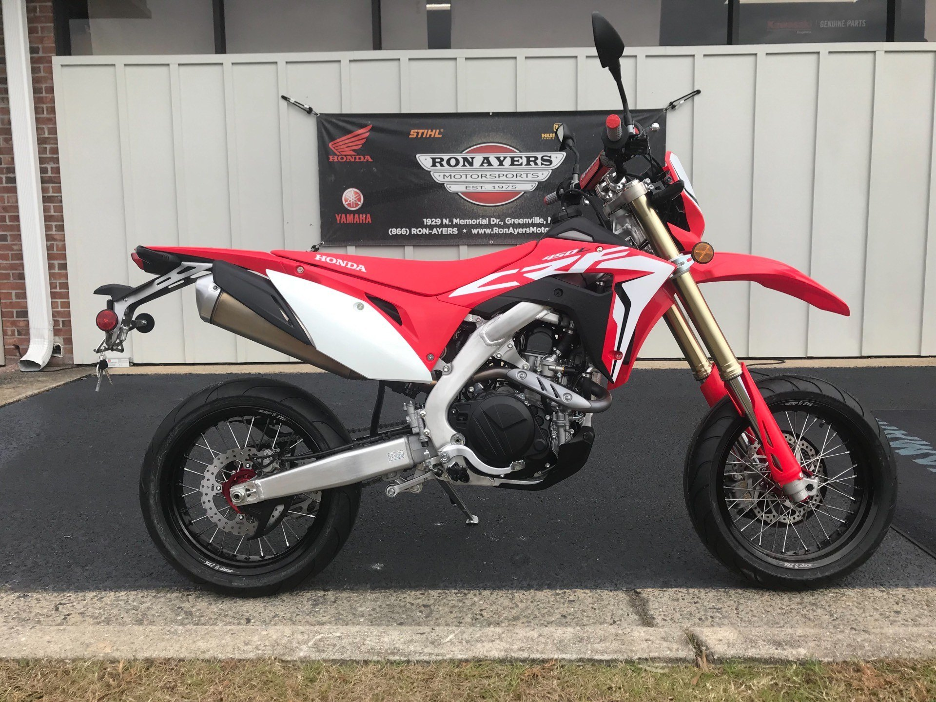 2019 Honda CRF450L in Greenville, North Carolina