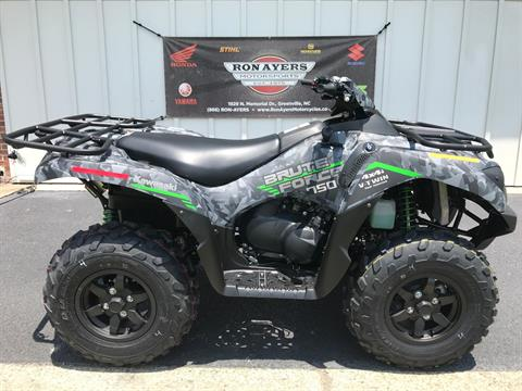 2021 Kawasaki Brute Force 750 4x4i EPS in Greenville, North Carolina - Photo 1
