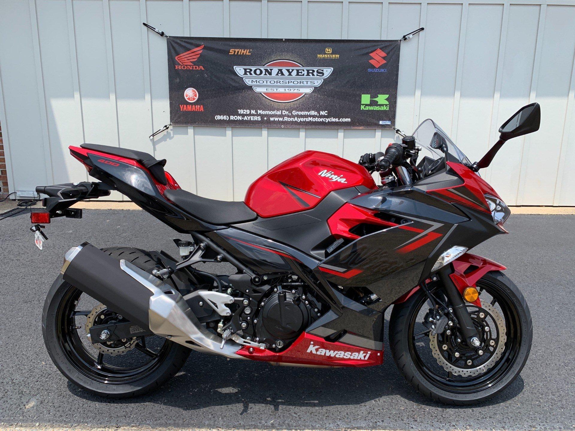 2019 Kawasaki Ninja 400 Abs In Greenville North Carolina