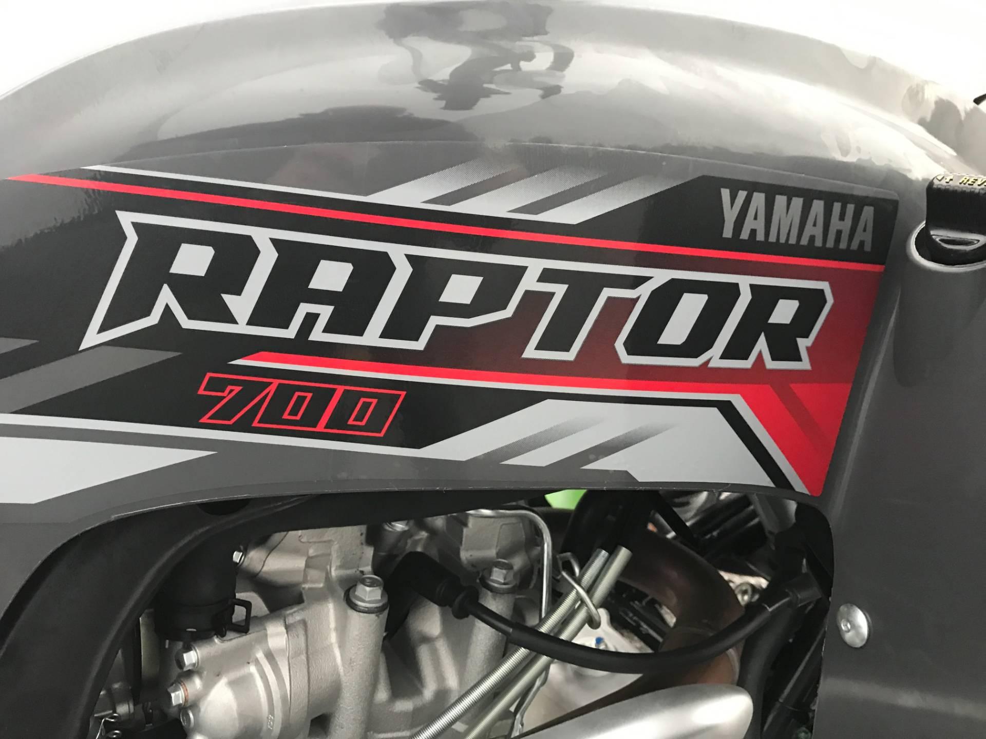 2018 Yamaha Raptor 700 12