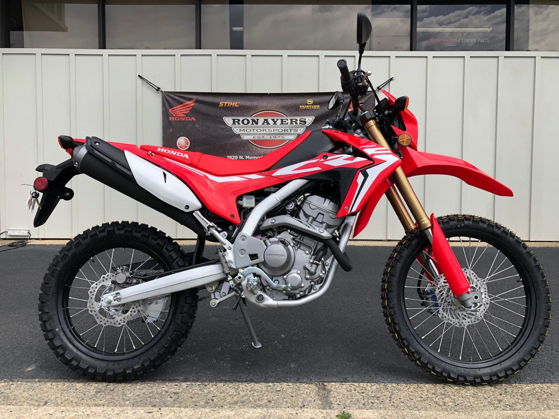 New 2020 Honda Crf250l Motorcycles In Greenville Nc Stock Number N A