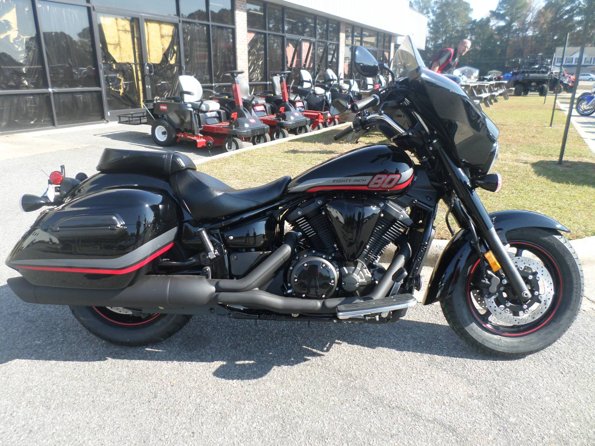 New 2017 Yamaha V Star 1300 Deluxe Motorcycles in Greenville NC