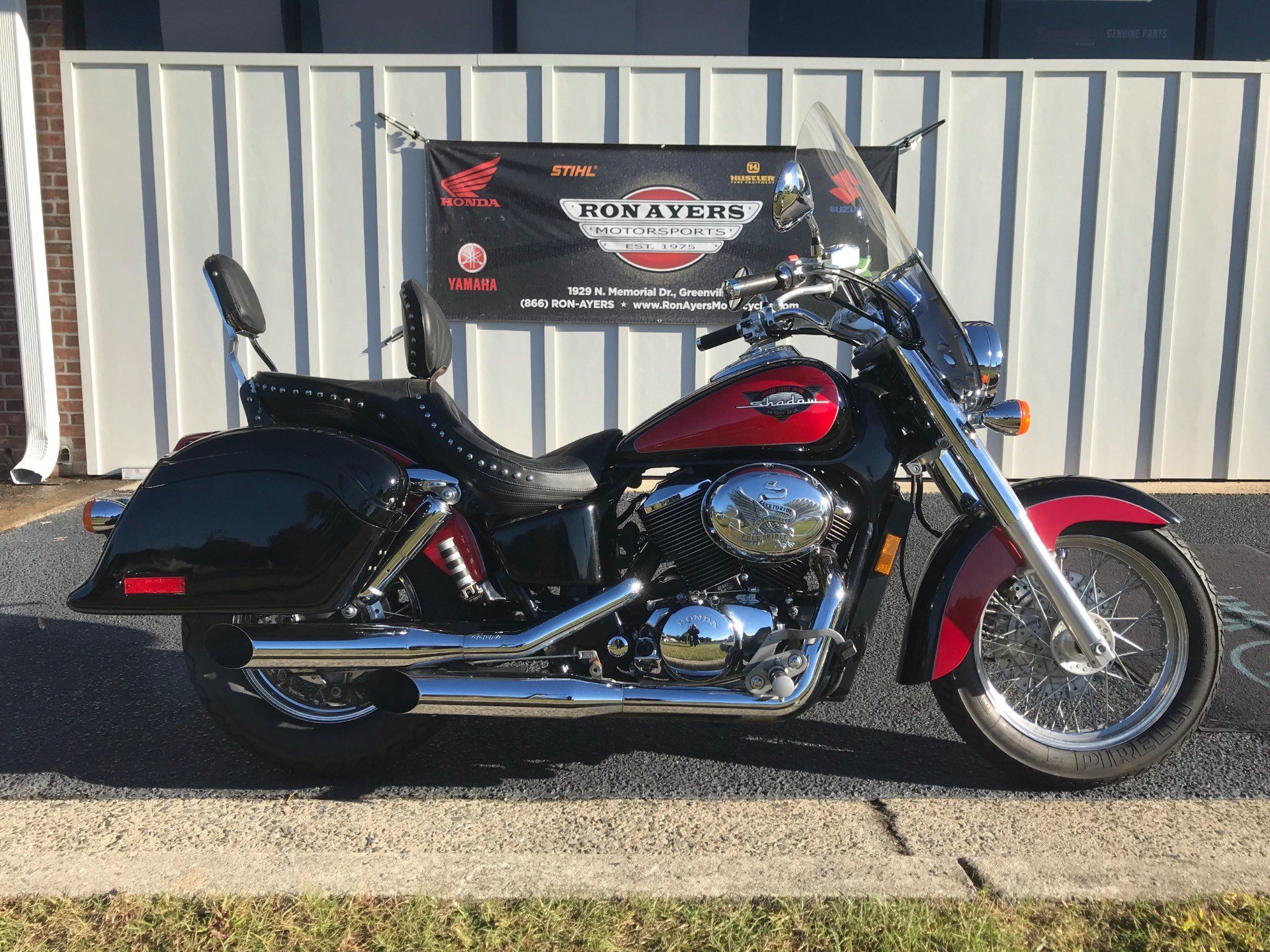 2000 Honda Shadow Aero in Greenville, North Carolina