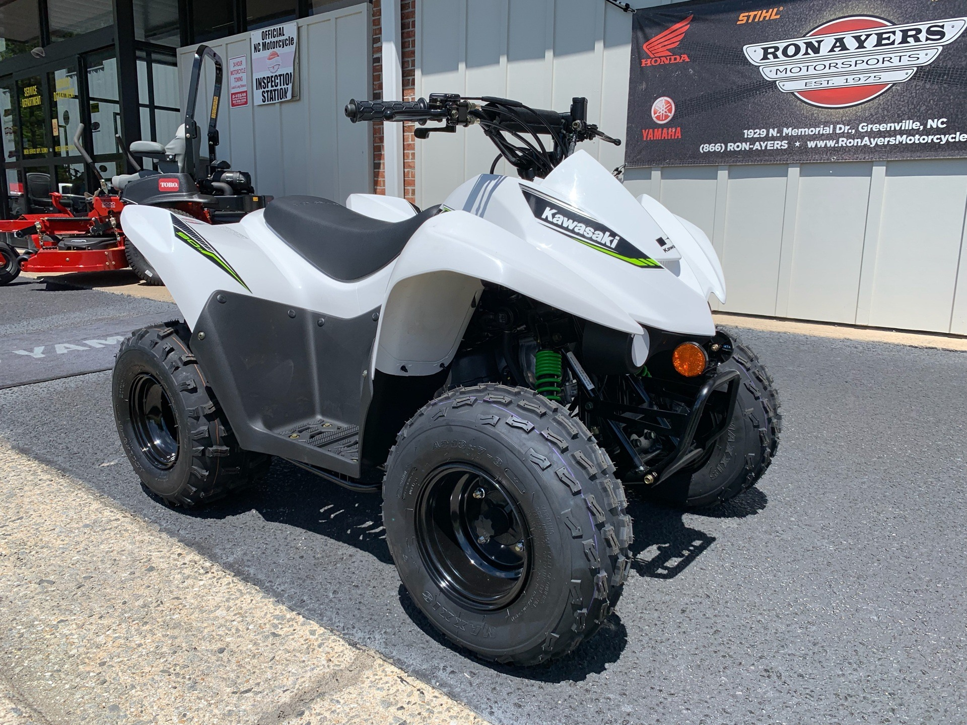 2019 Kawasaki KFX 90 in Greenville, North Carolina - Photo 3