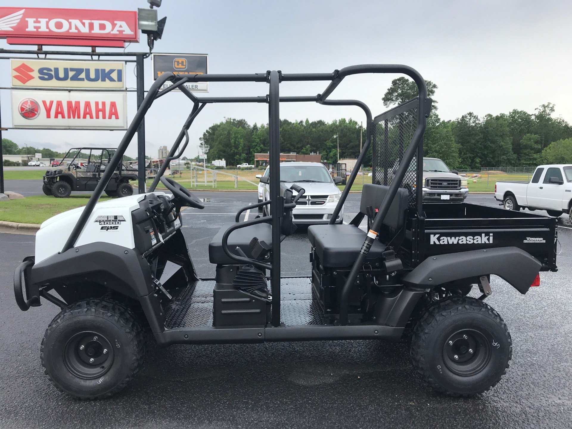 2020 Kawasaki Mule 4000 Trans in Greenville, North Carolina - Photo 5