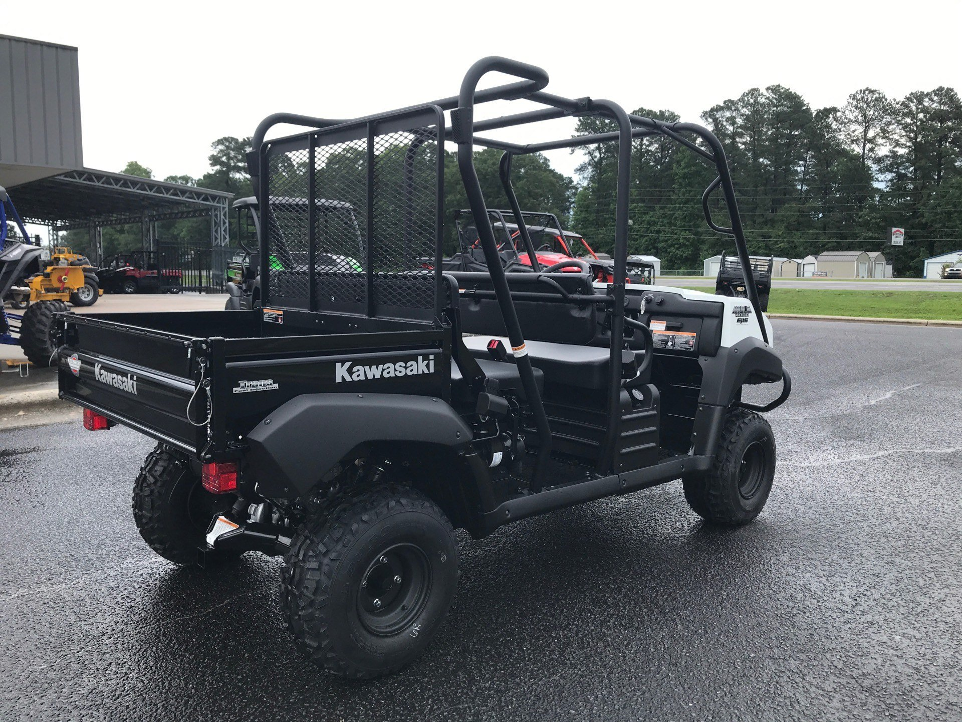 2020 Kawasaki Mule 4000 Trans in Greenville, North Carolina - Photo 8