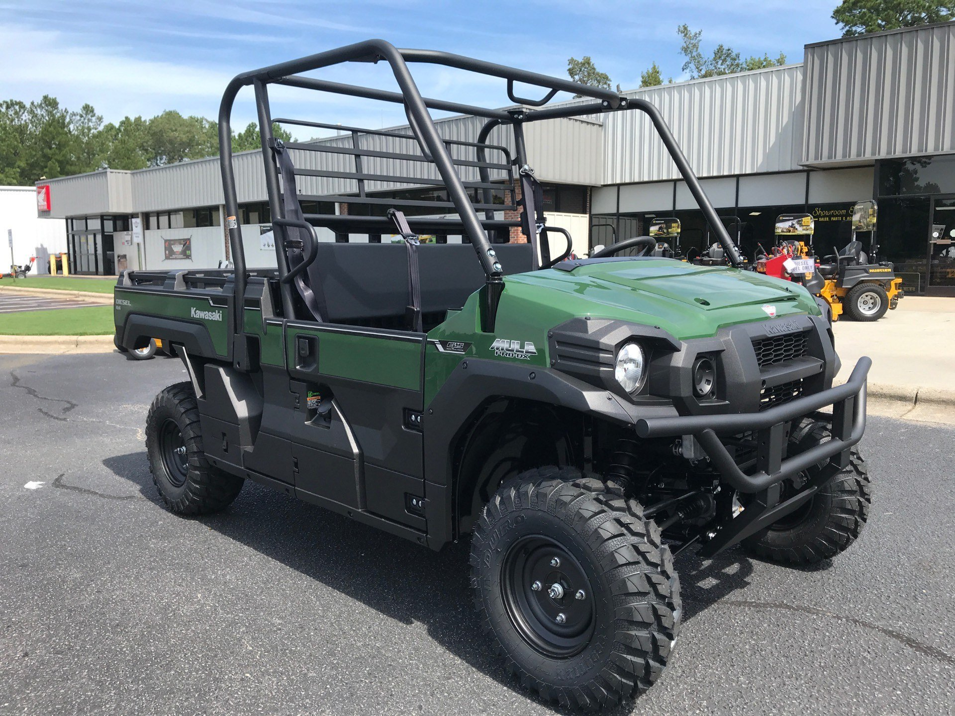 2021 Kawasaki Mule PRO-DX EPS Diesel in Greenville, North Carolina - Photo 2