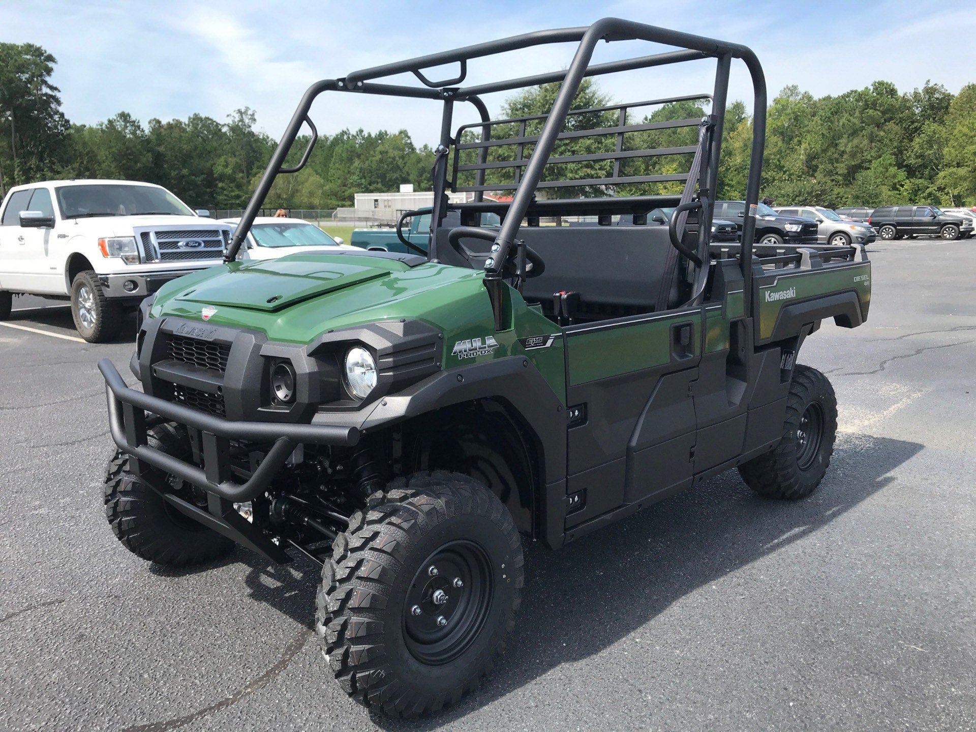 2021 Kawasaki Mule PRO-DX EPS Diesel in Greenville, North Carolina - Photo 4