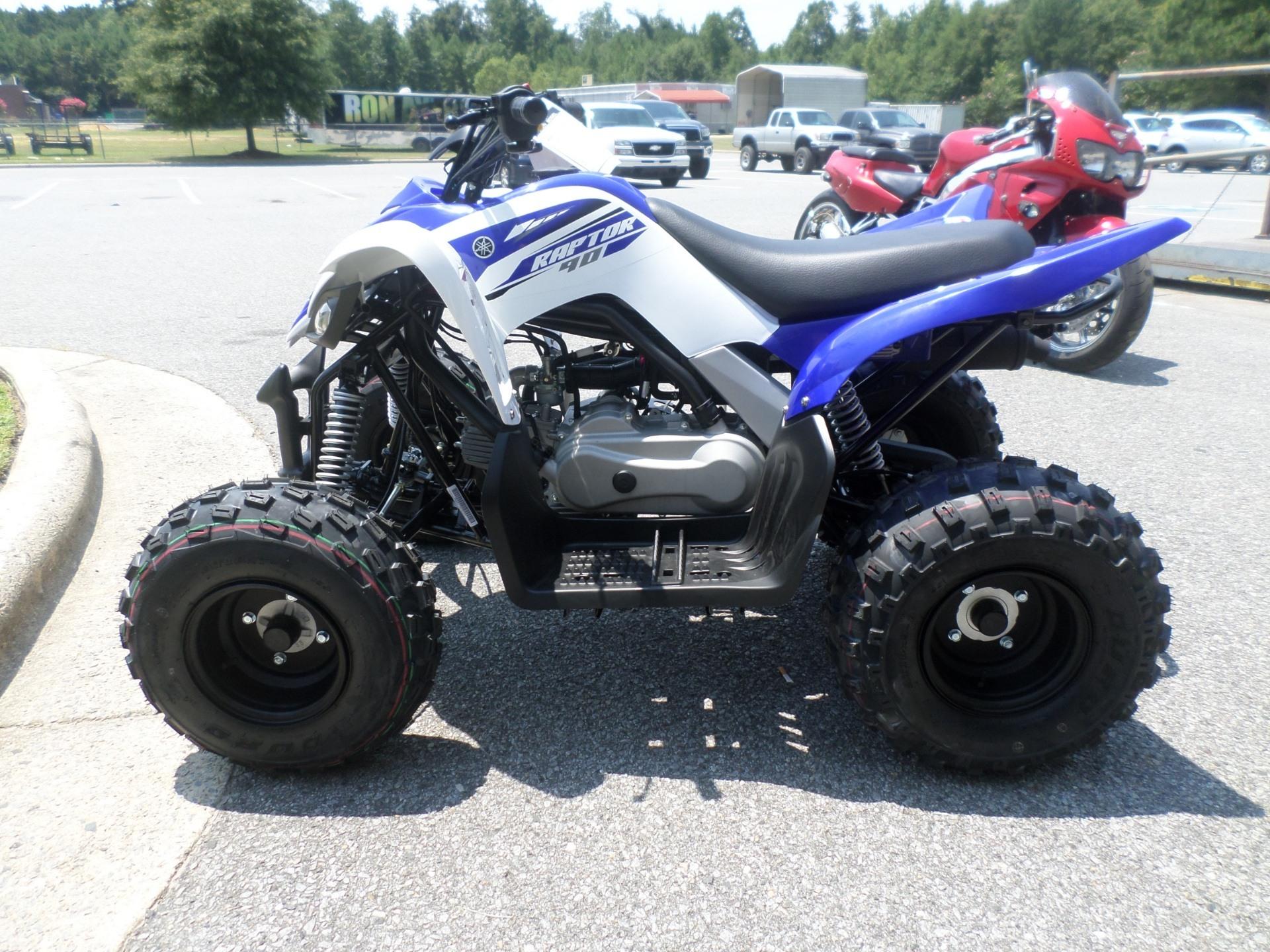 2017 Yamaha Raptor 90 5