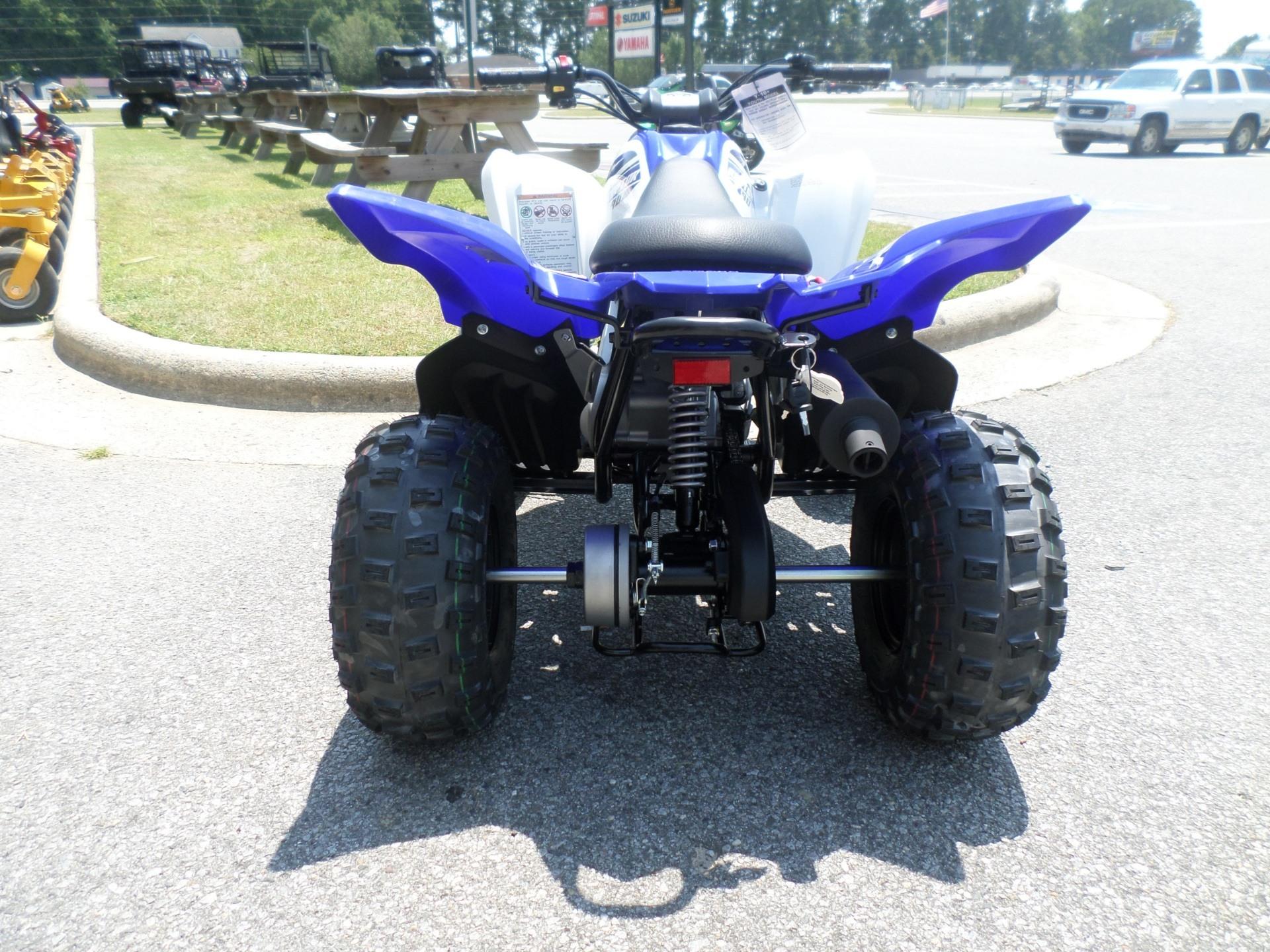 2017 Yamaha Raptor 90 7