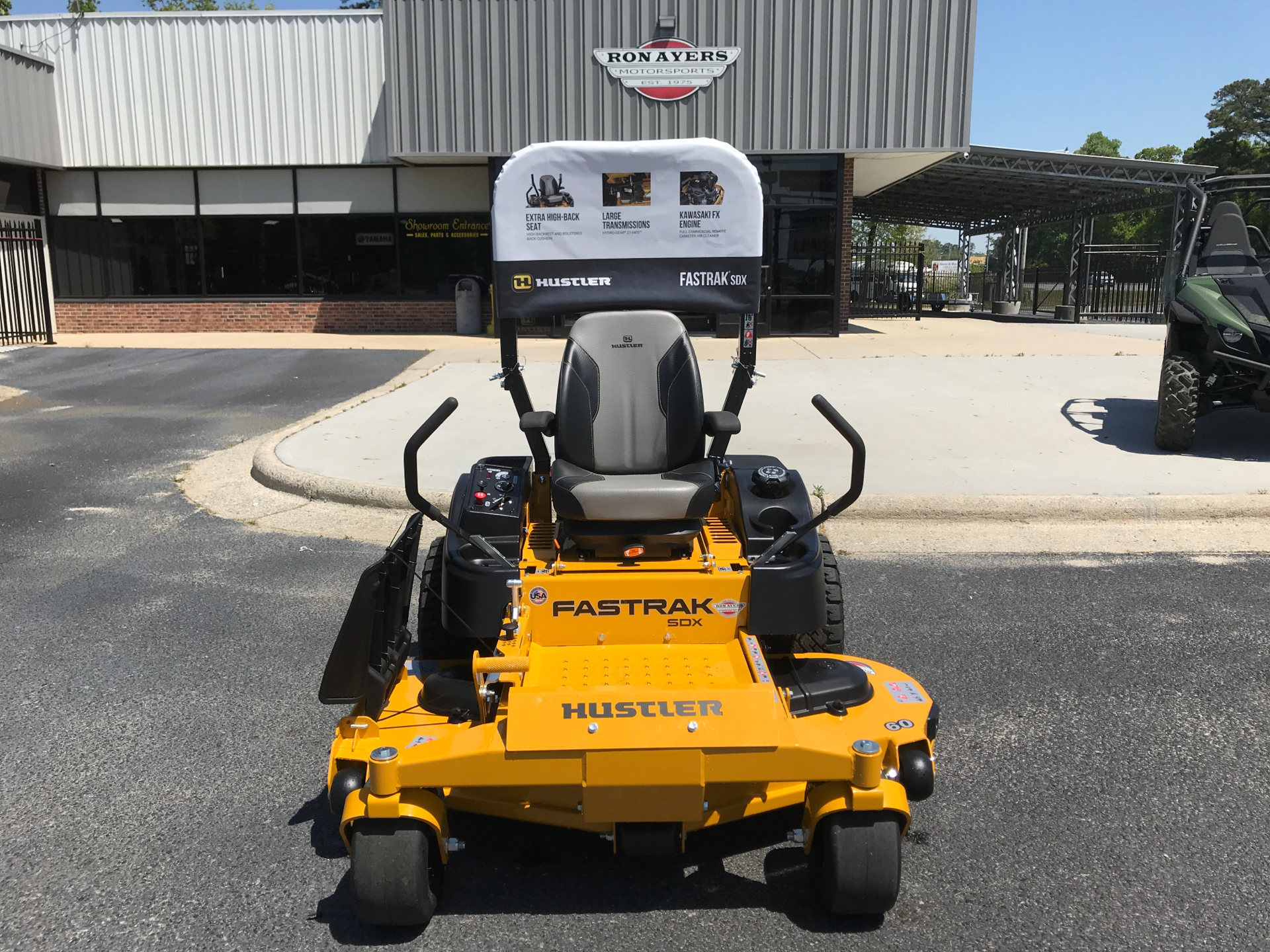 2021 Hustler Turf Equipment FasTrak SDX 60 in. Kawasaki FX730 23.5 hp in Greenville, North Carolina - Photo 1