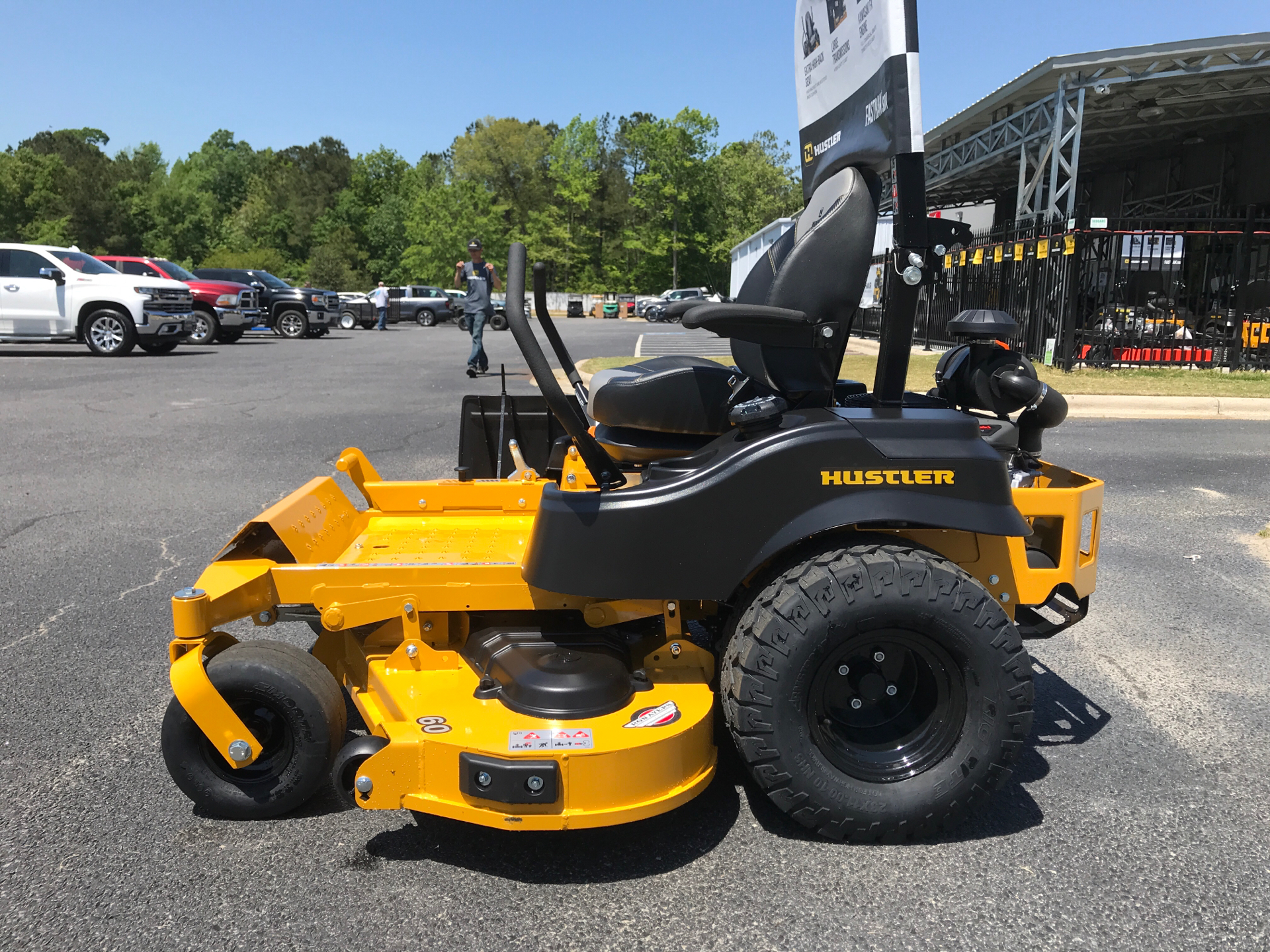 2021 Hustler Turf Equipment FasTrak SDX 60 in. Kawasaki FX730 23.5 hp in Greenville, North Carolina - Photo 2