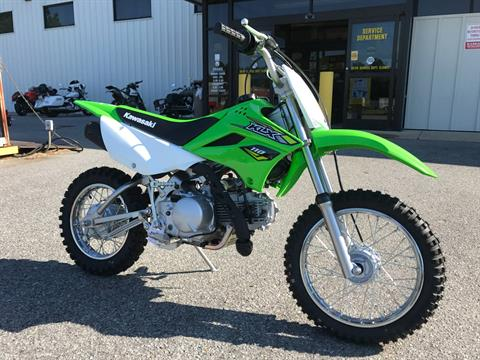 2018 Kawasaki KLX 110 in Greenville, North Carolina - Photo 2