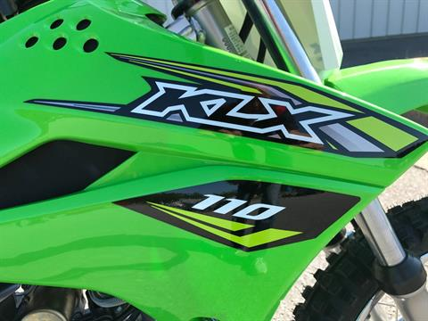 2018 Kawasaki KLX 110 in Greenville, North Carolina