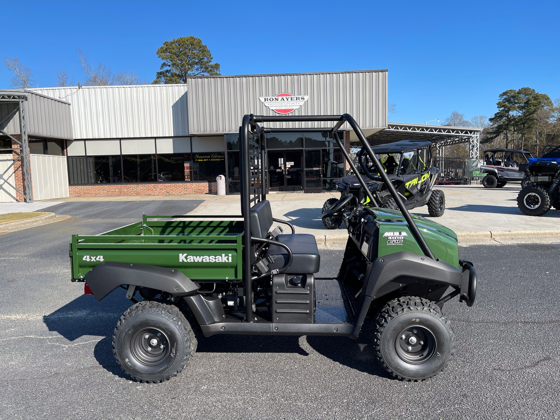 2021 Kawasaki Mule 4010 4x4 in Greenville, North Carolina - Photo 1