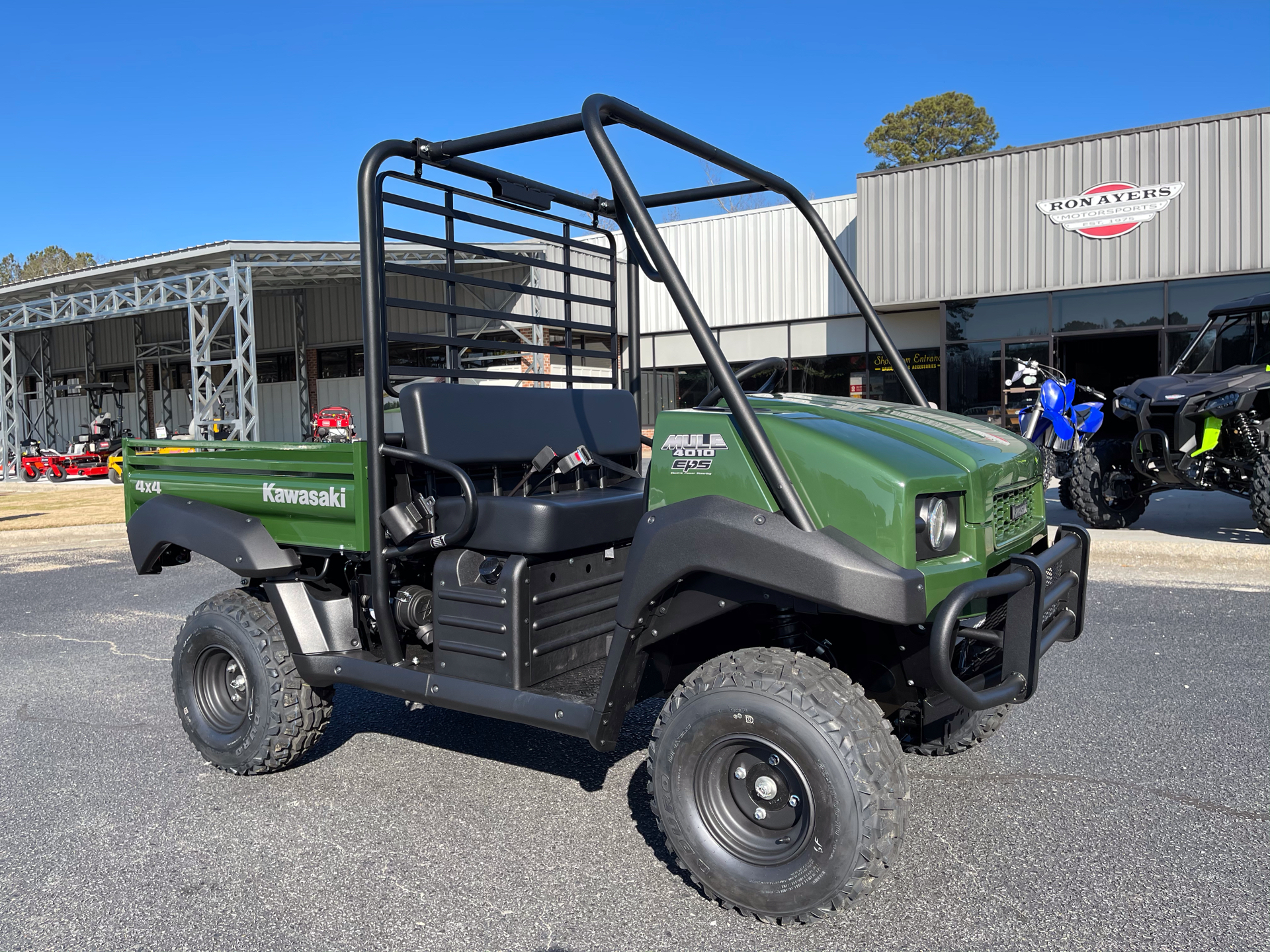 2021 Kawasaki Mule 4010 4x4 in Greenville, North Carolina - Photo 2