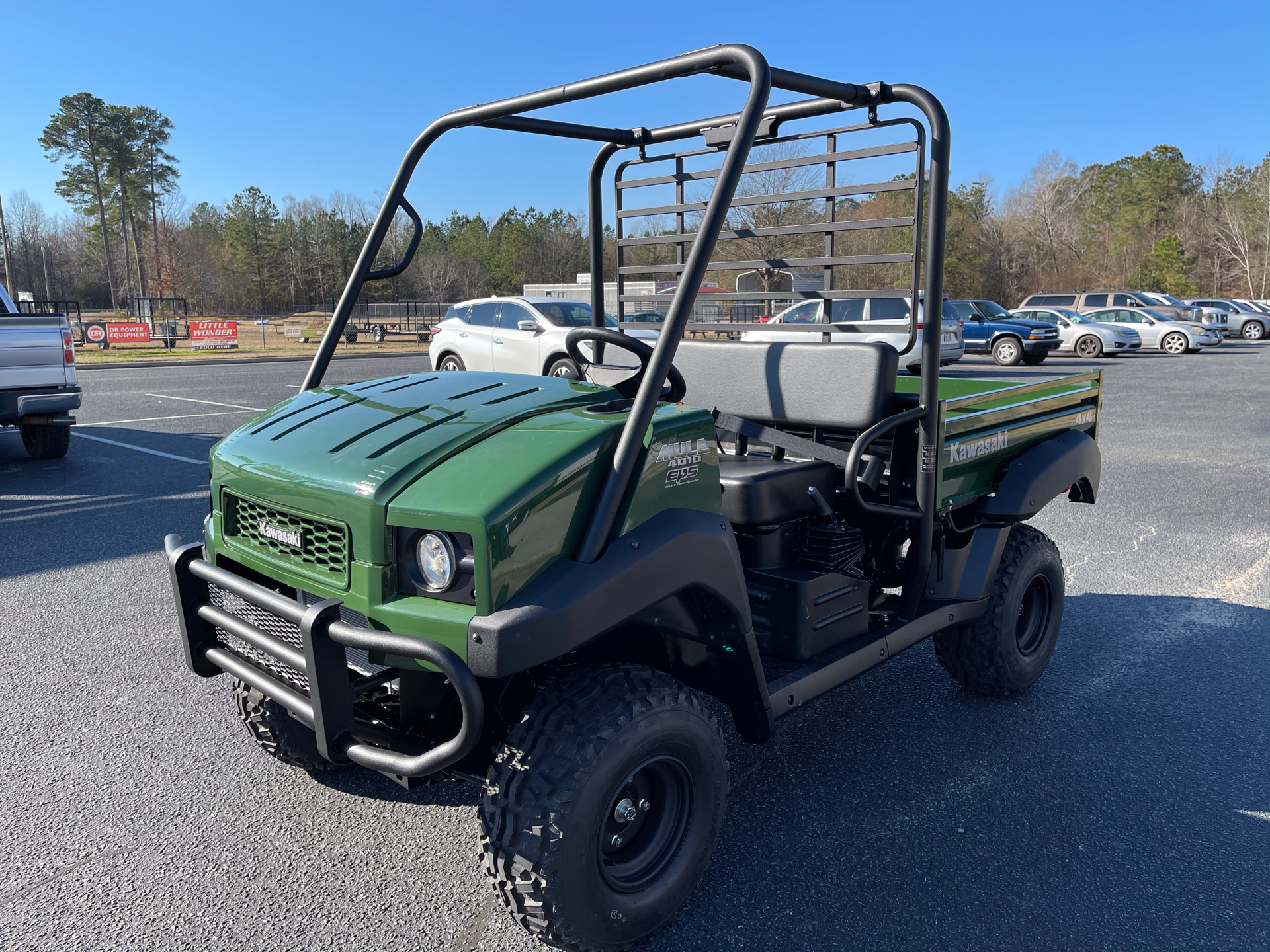 2021 Kawasaki Mule 4010 4x4 in Greenville, North Carolina - Photo 4
