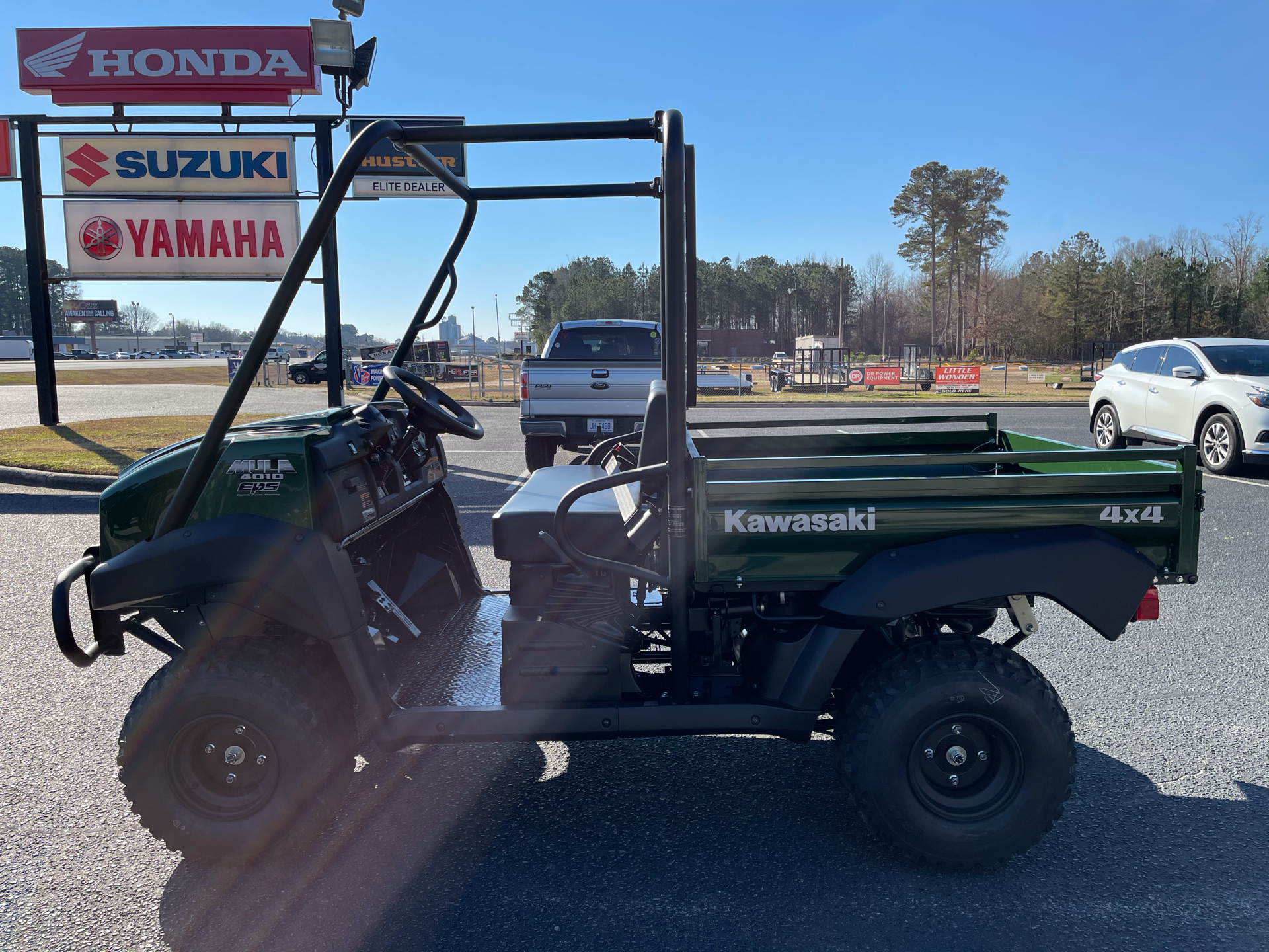 2021 Kawasaki Mule 4010 4x4 in Greenville, North Carolina - Photo 5