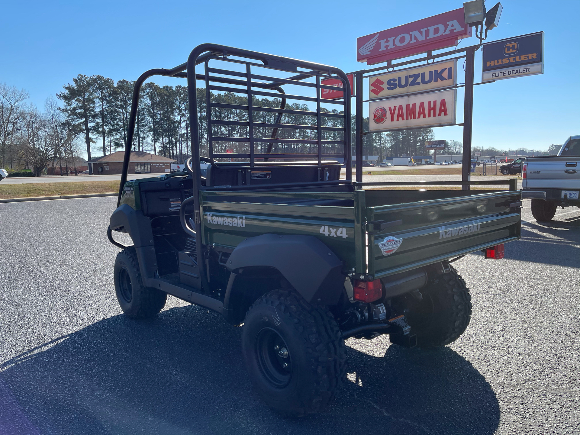 2021 Kawasaki Mule 4010 4x4 in Greenville, North Carolina - Photo 6