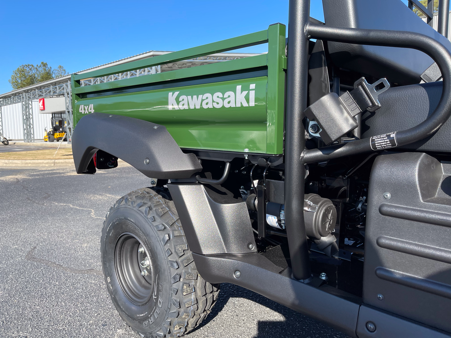 2021 Kawasaki Mule 4010 4x4 in Greenville, North Carolina - Photo 11