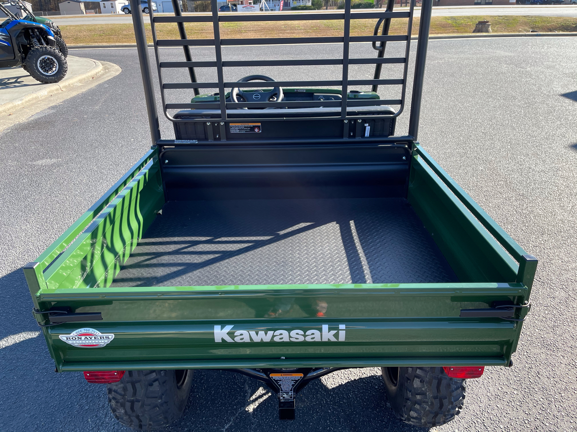 2021 Kawasaki Mule 4010 4x4 in Greenville, North Carolina - Photo 12