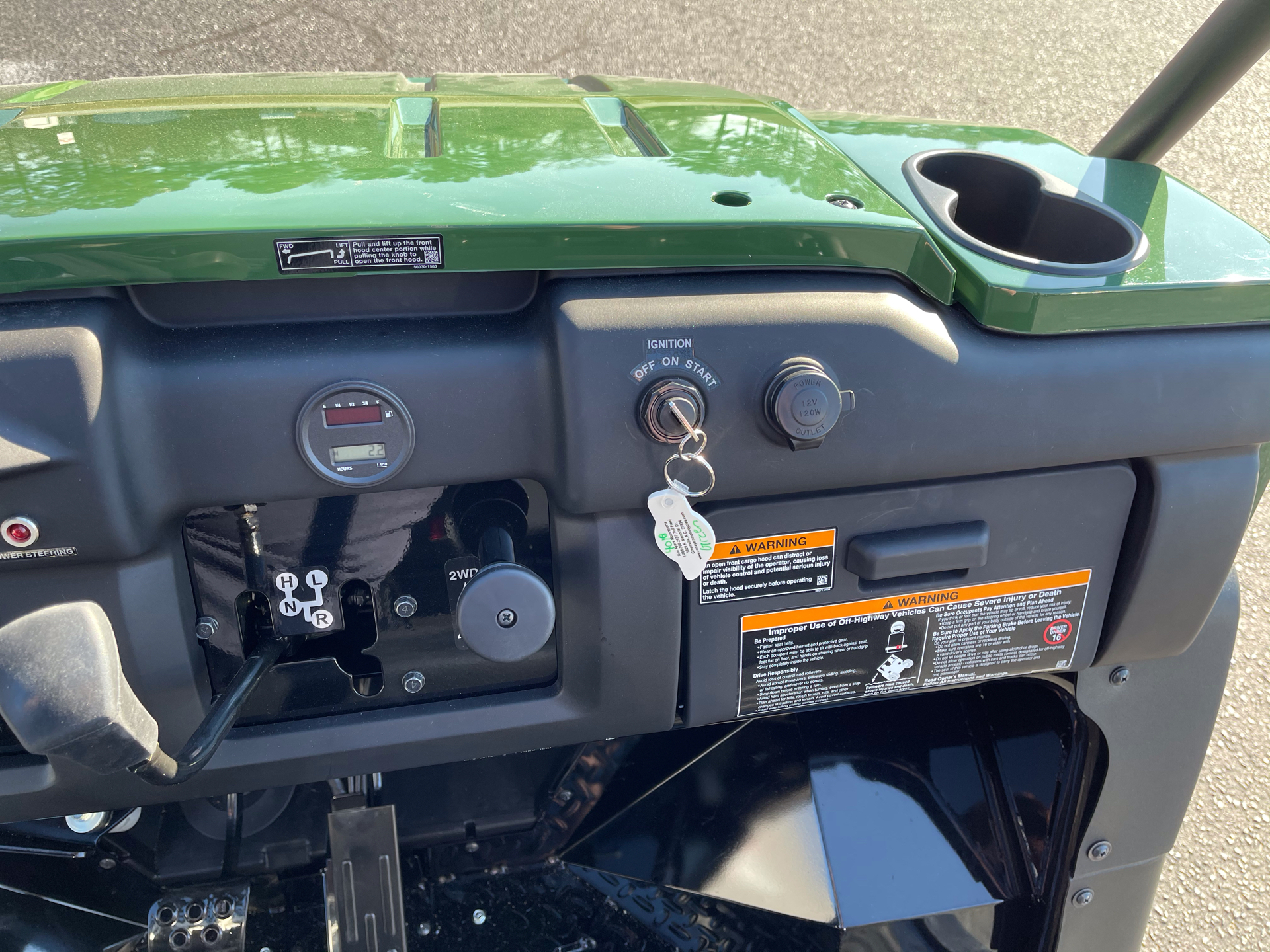2021 Kawasaki Mule 4010 4x4 in Greenville, North Carolina - Photo 16