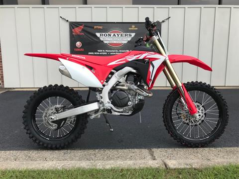 2019 Honda CRF450RX in Greenville, North Carolina - Photo 1