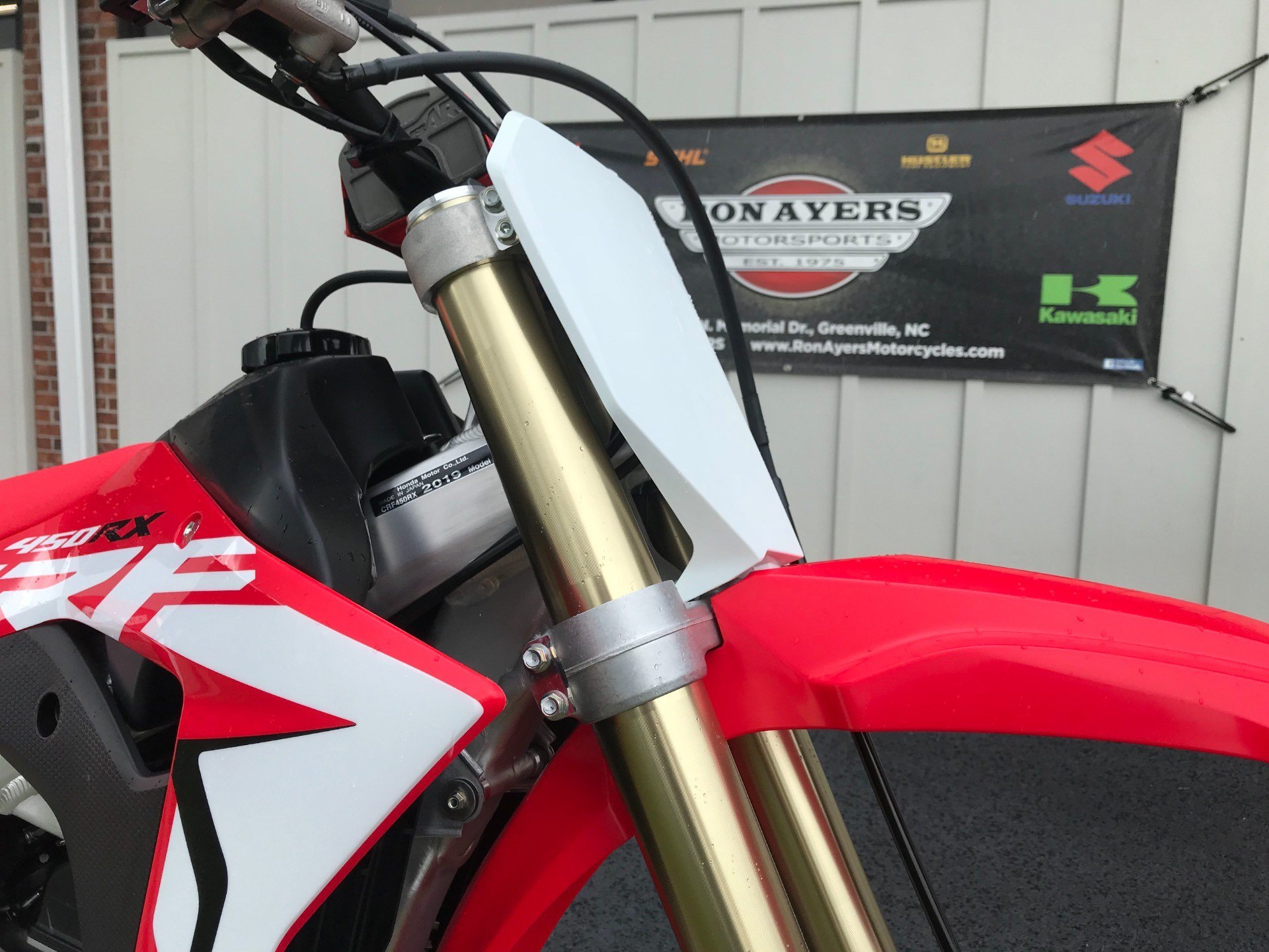 2019 Honda CRF450RX in Greenville, North Carolina - Photo 12
