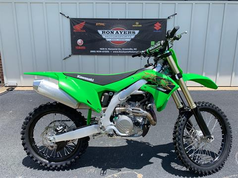 2020 Kawasaki KX 450 in Greenville, North Carolina