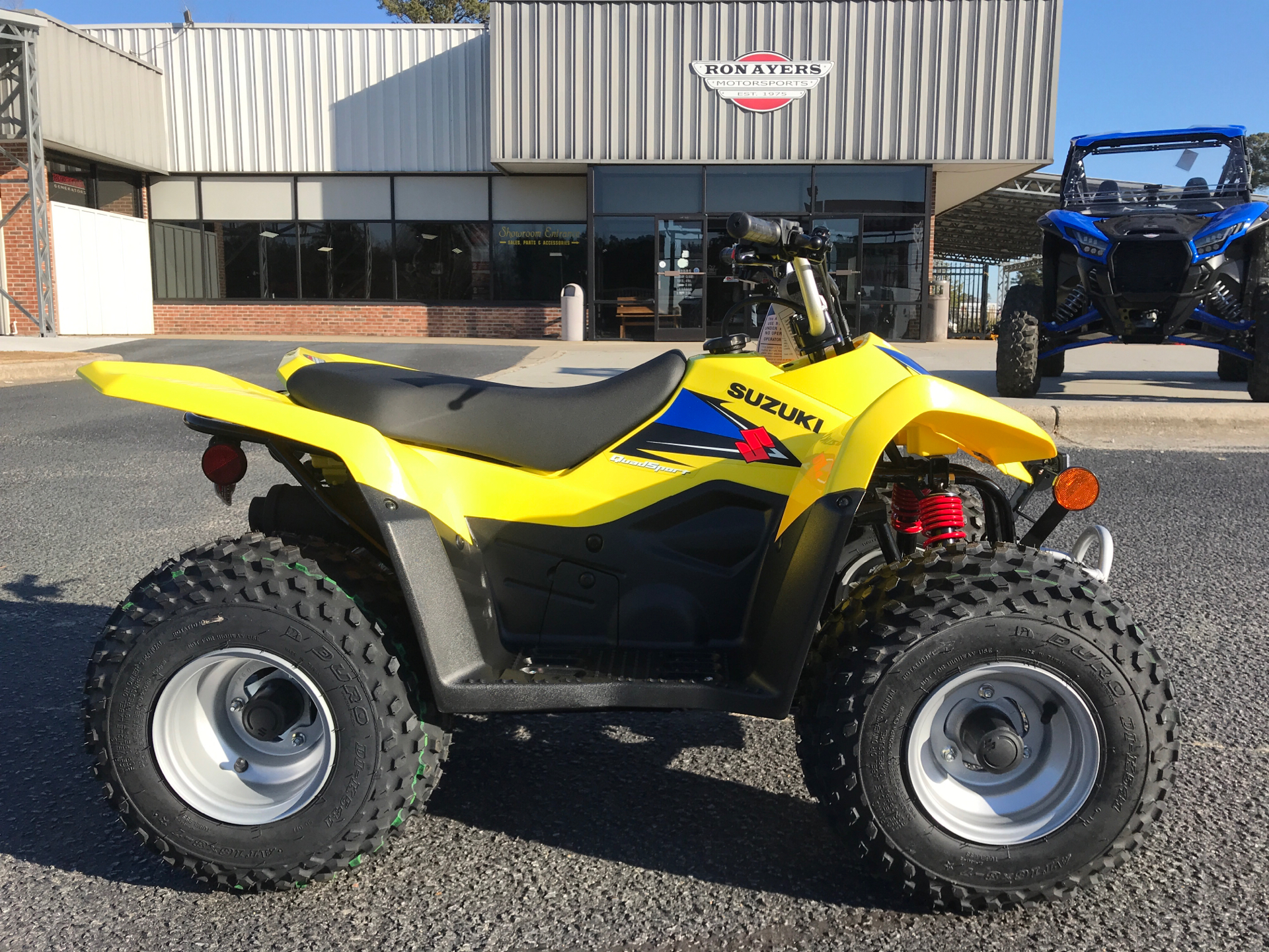 2021 Suzuki QuadSport Z50 in Greenville, North Carolina - Photo 1