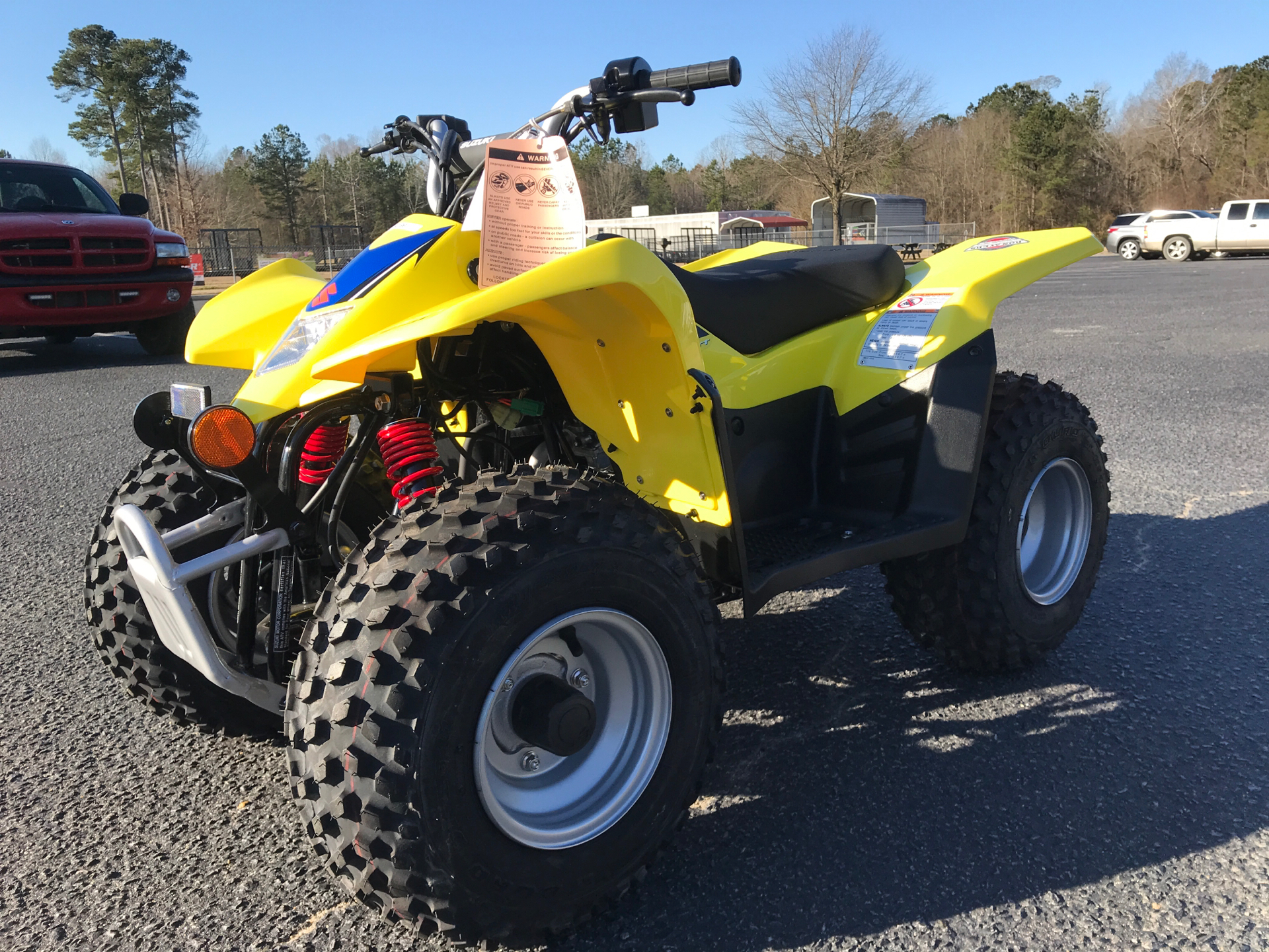 2021 Suzuki QuadSport Z50 in Greenville, North Carolina - Photo 4