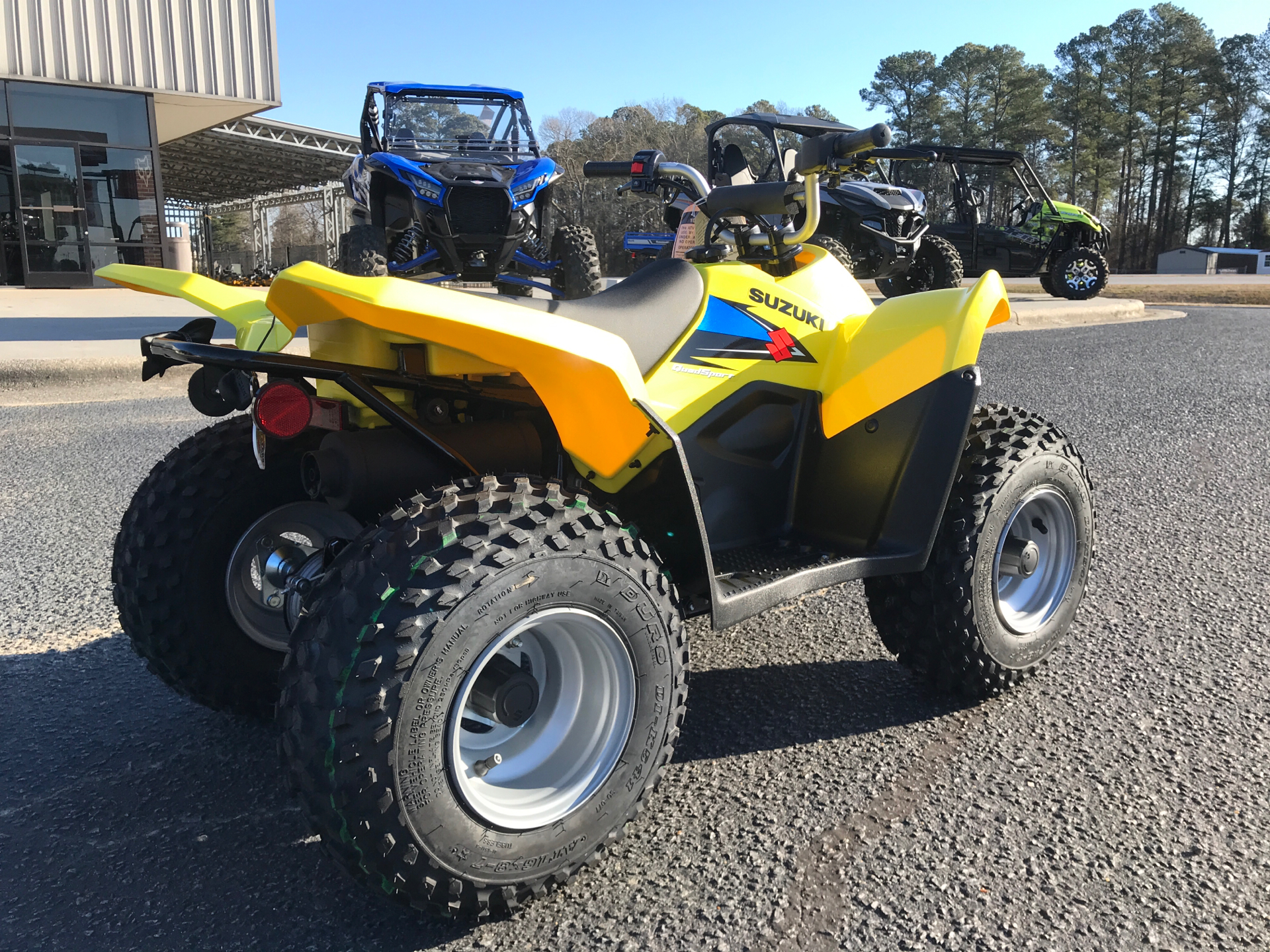 2021 Suzuki QuadSport Z50 in Greenville, North Carolina - Photo 8