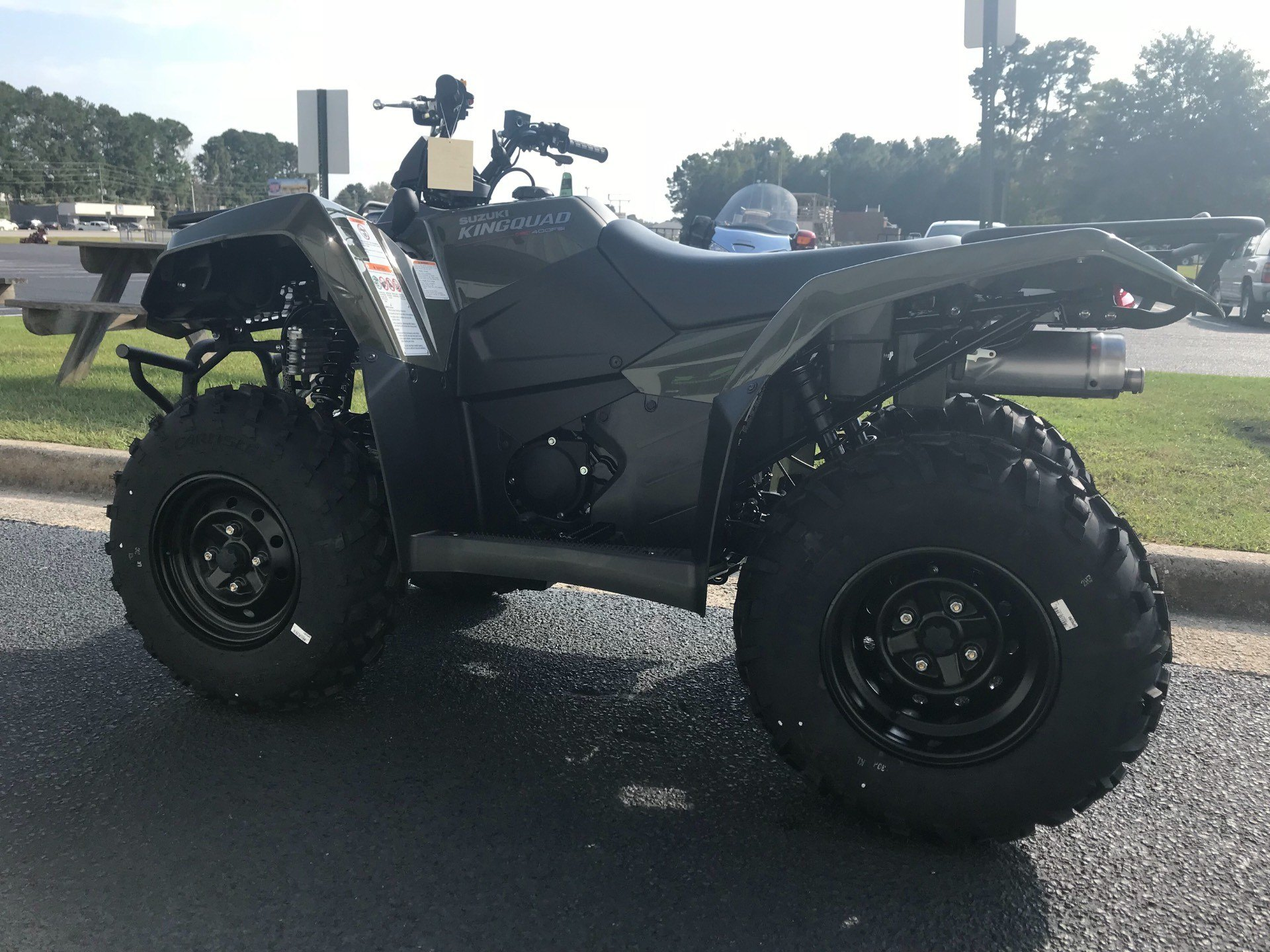 2019 Suzuki KingQuad 400FSi in Greenville, North Carolina - Photo 7