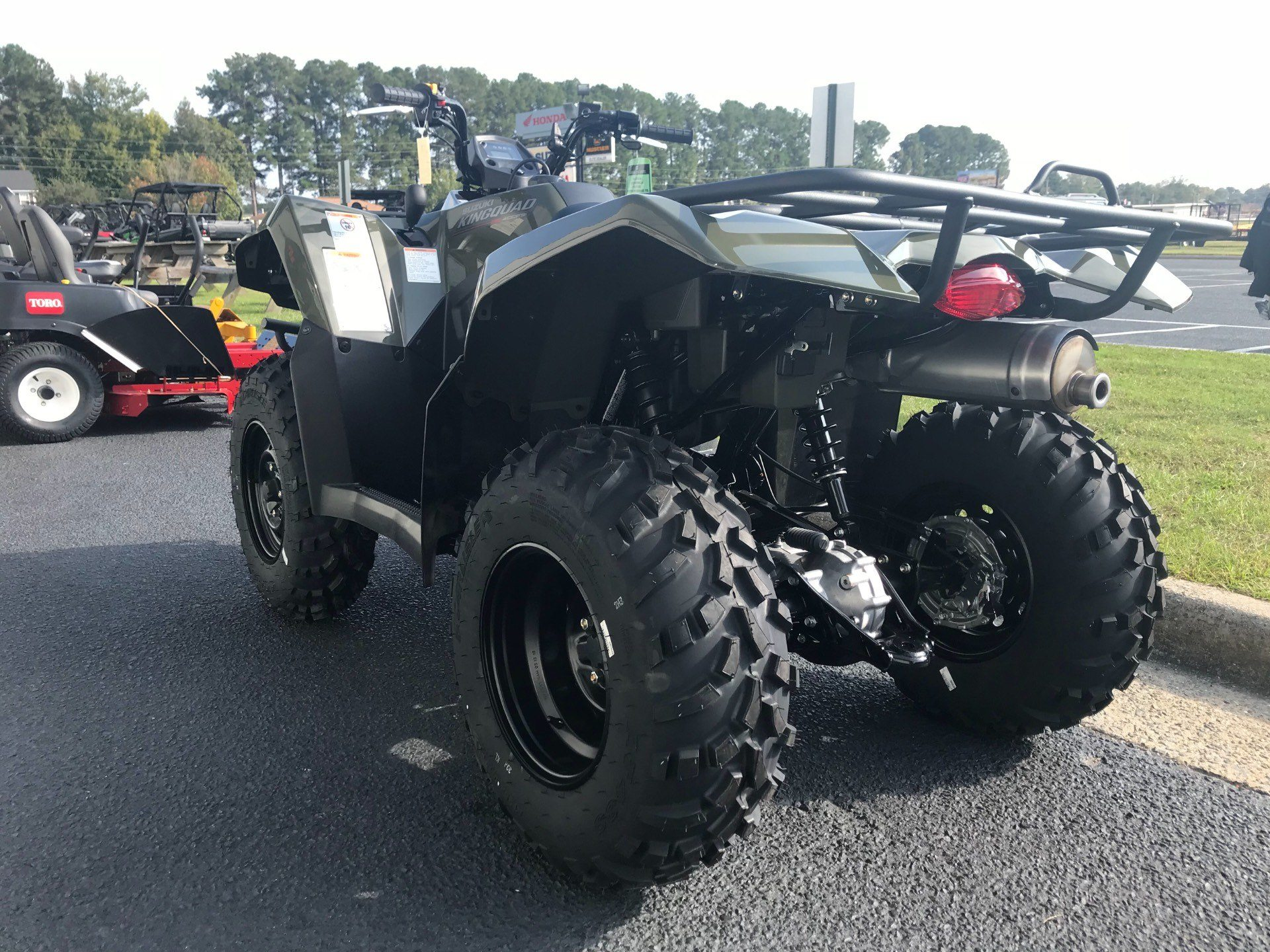 2019 Suzuki KingQuad 400FSi in Greenville, North Carolina - Photo 8