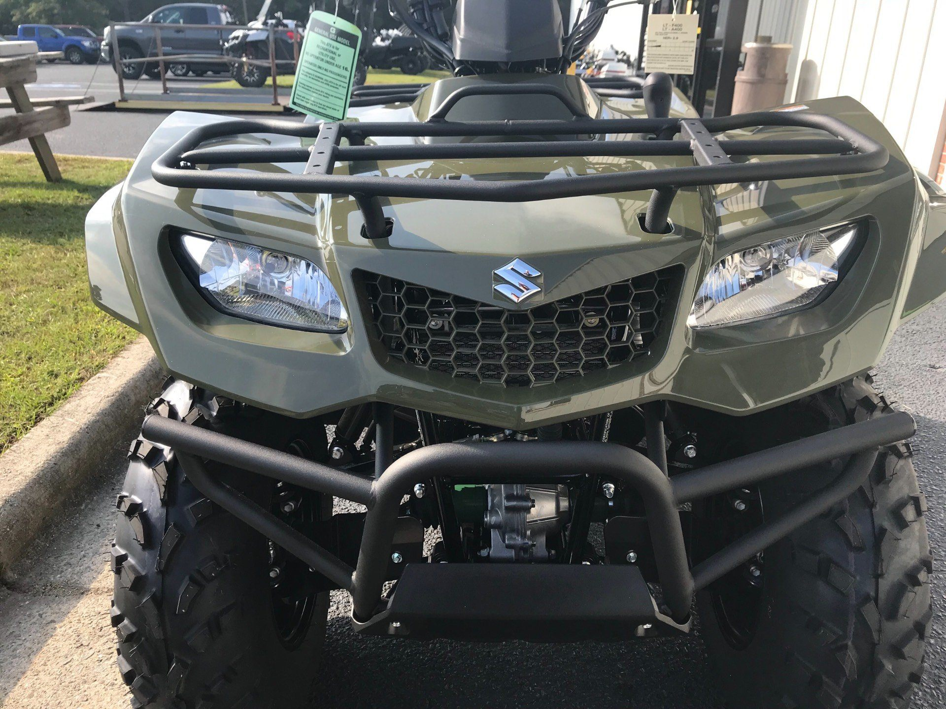 2019 Suzuki KingQuad 400FSi in Greenville, North Carolina - Photo 12