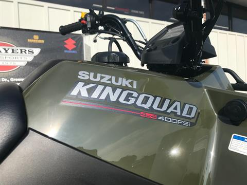 2019 Suzuki KingQuad 400FSi in Greenville, North Carolina - Photo 15