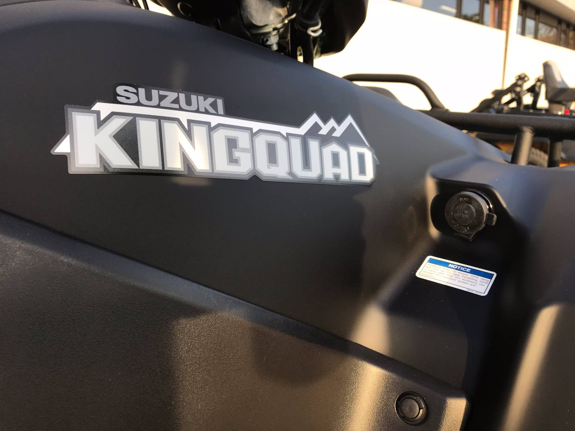 2018 Suzuki KingQuad 750AXi Power Steering Special Edition in Greenville, North Carolina