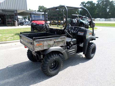 2017 Kawasaki Mule SX 4x4 XC Camo in Greenville, North Carolina
