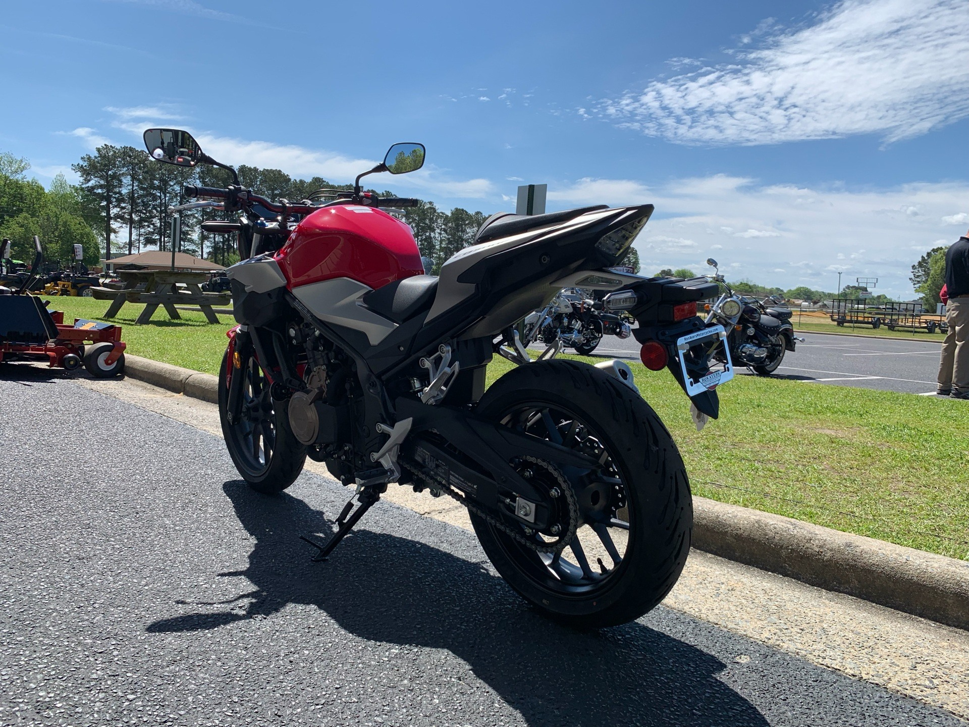 2019 Honda CB500F ABS in Greenville, North Carolina - Photo 9