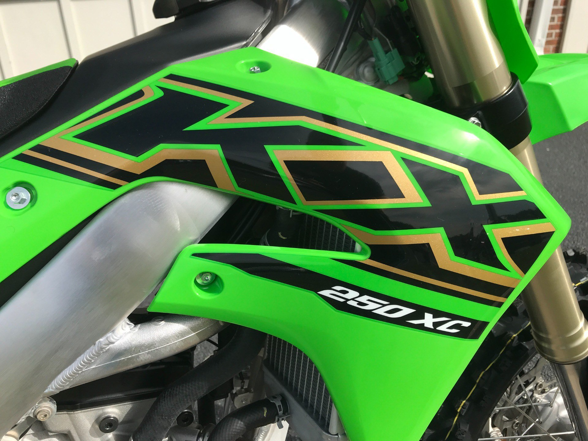 2021 Kawasaki KX 250X in Greenville, North Carolina - Photo 12