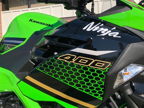 2020 Kawasaki Ninja 400 ABS KRT Edition in Greenville, North Carolina - Photo 15