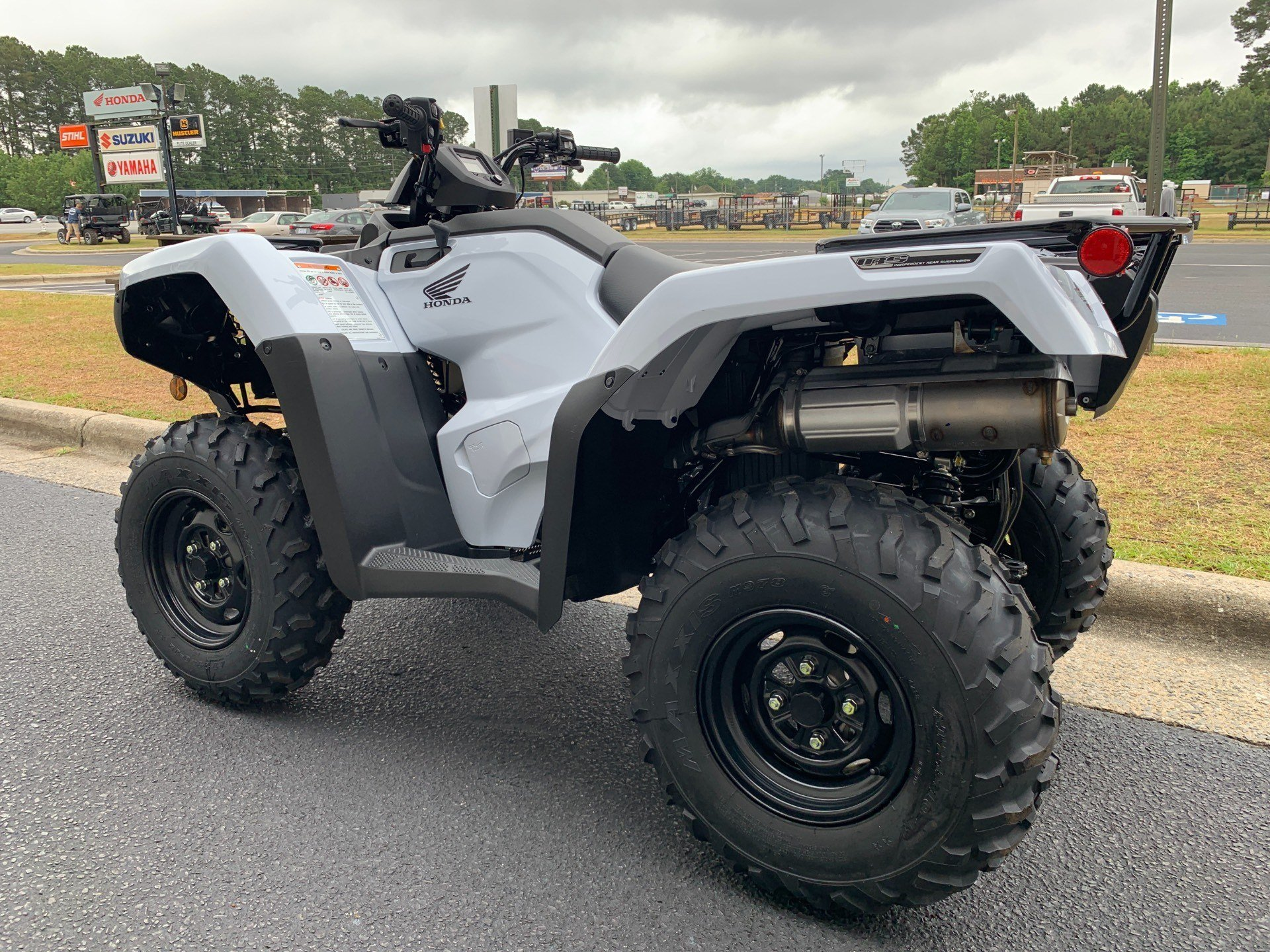 2019 Honda FourTrax Rancher 4x4 DCT IRS EPS in Greenville, North Carolina - Photo 8