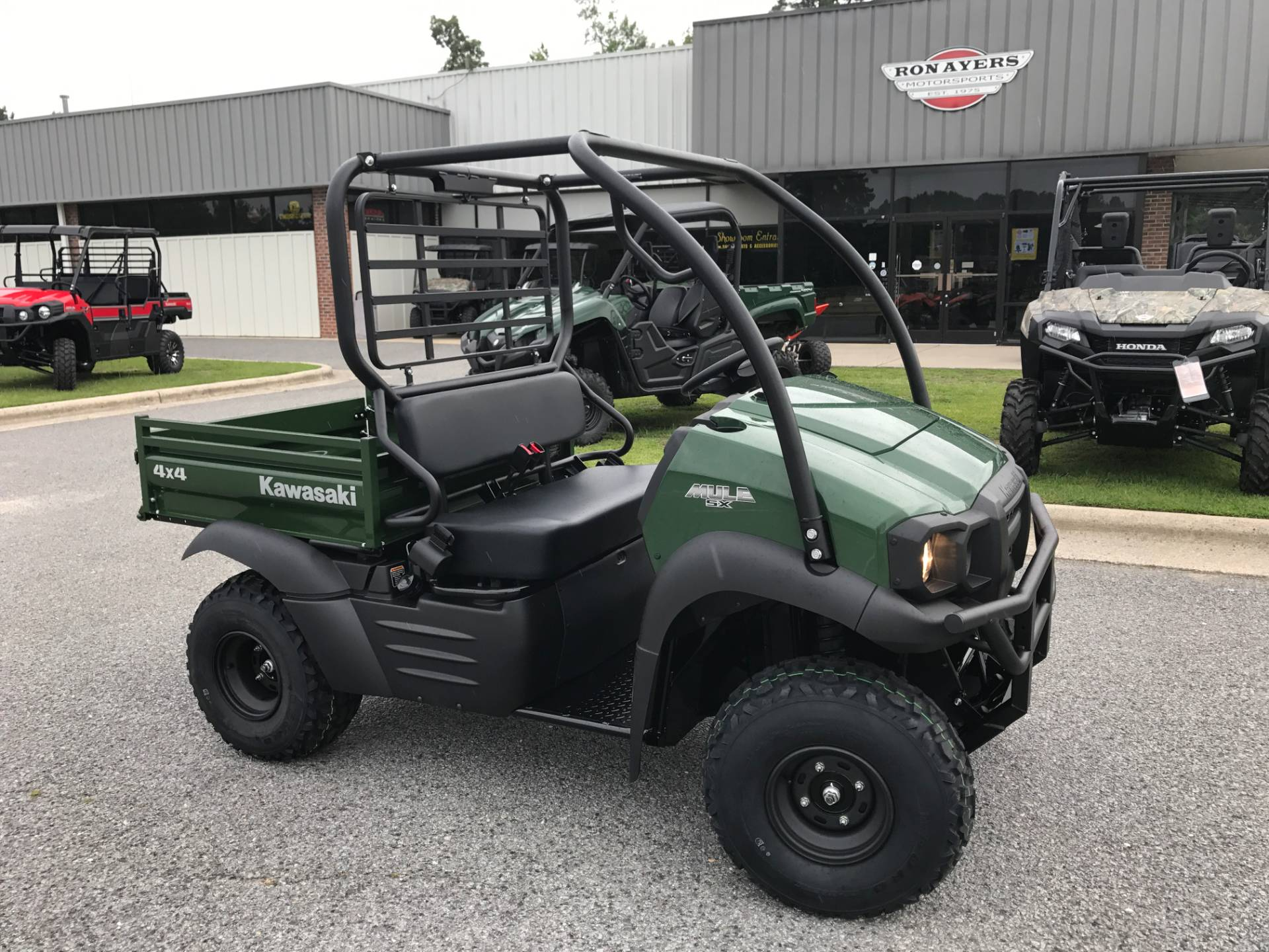 2018 Kawasaki Mule SX 4X4 in Greenville, North Carolina
