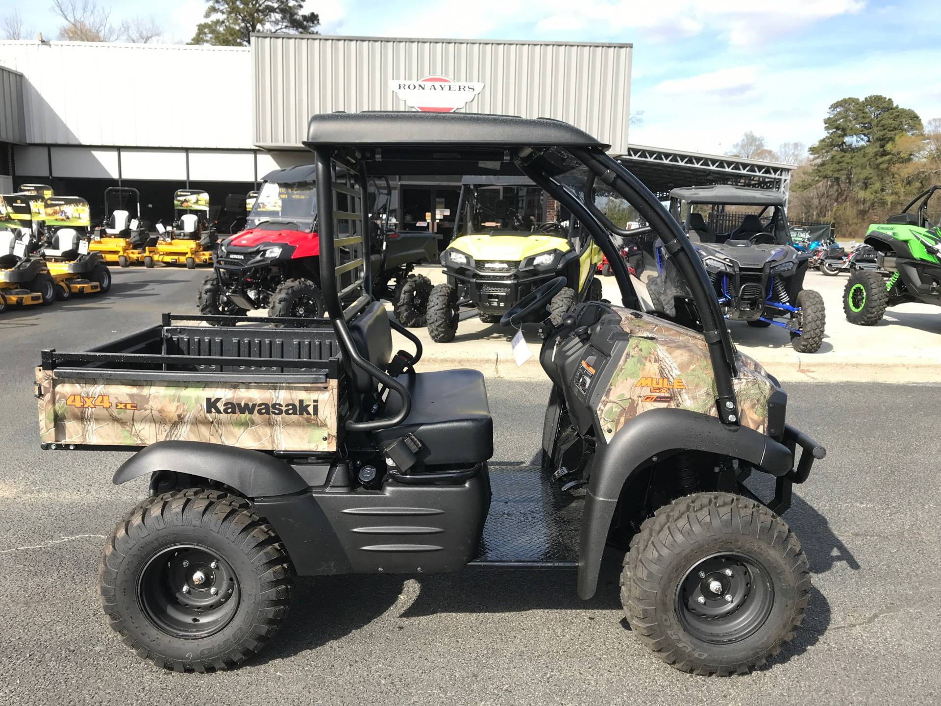 2021 Kawasaki Mule SX 4X4 XC Camo FI in Greenville, North Carolina - Photo 1