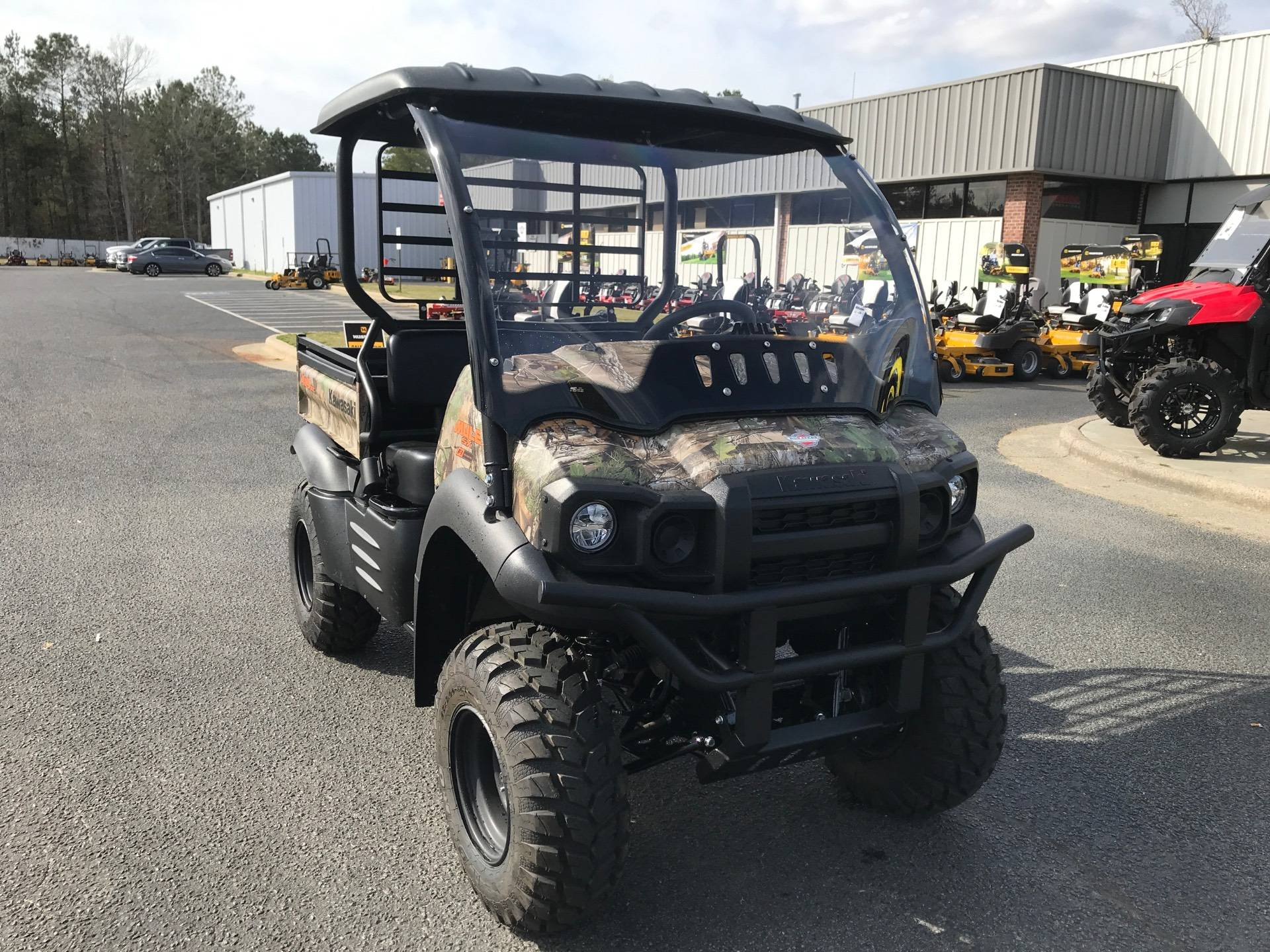 2021 Kawasaki Mule SX 4X4 XC Camo FI in Greenville, North Carolina - Photo 3